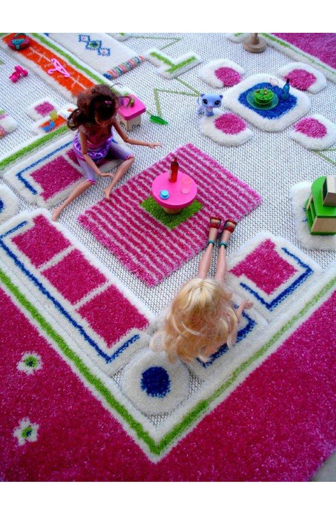 Alternate Image 2  - LUCA AND CO 'Playhouse' Play Rug
