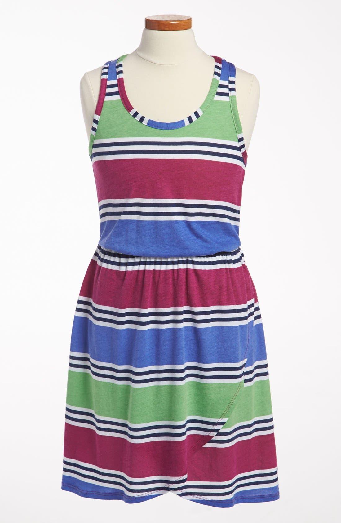 Main Image - Splendid 'Cabana Stripe' Dress (Big Girls)