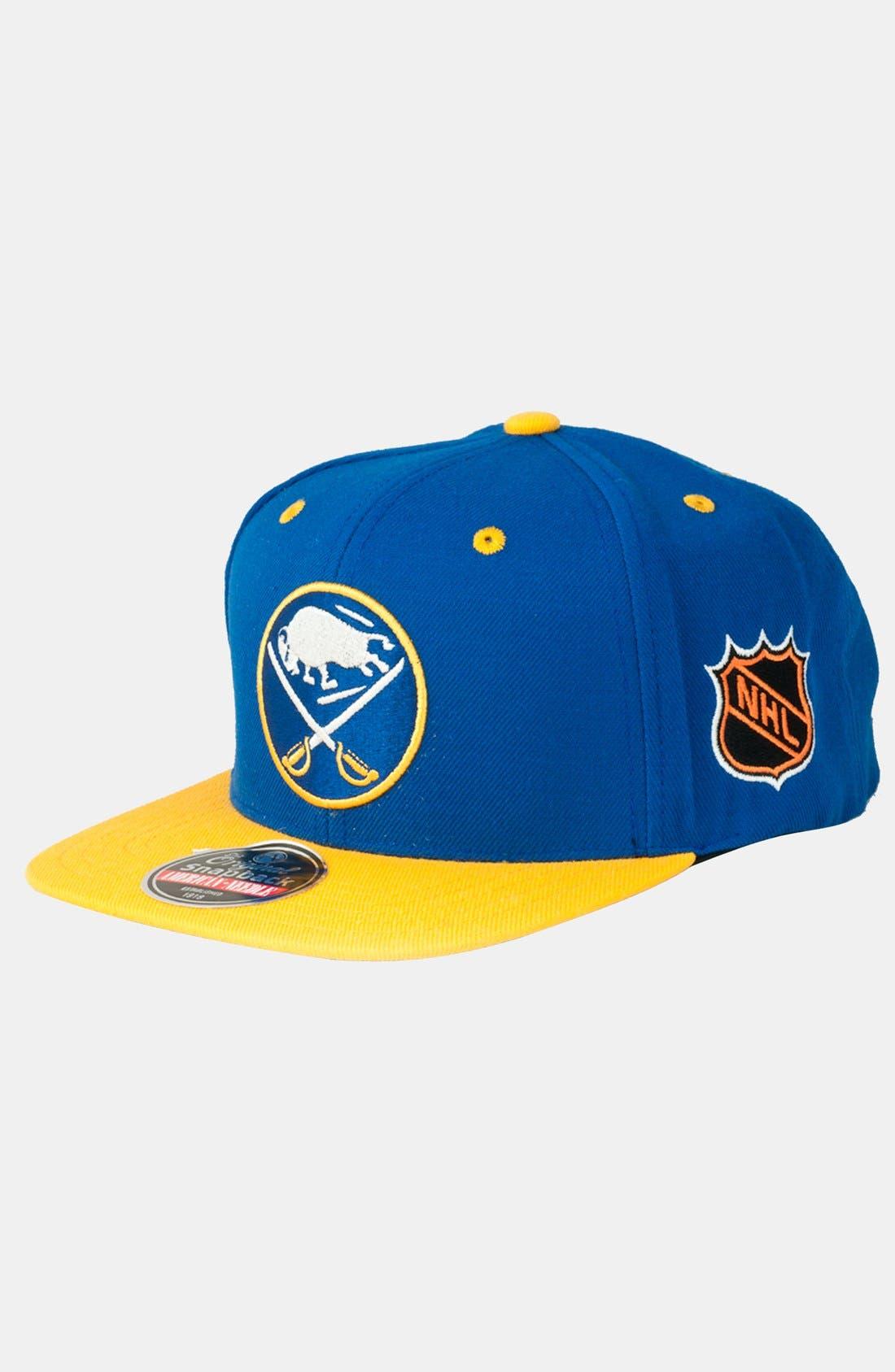 Alternate Image 1 Selected - American Needle 'Buffalo Sabres - Blockhead' Snapback Hockey Cap
