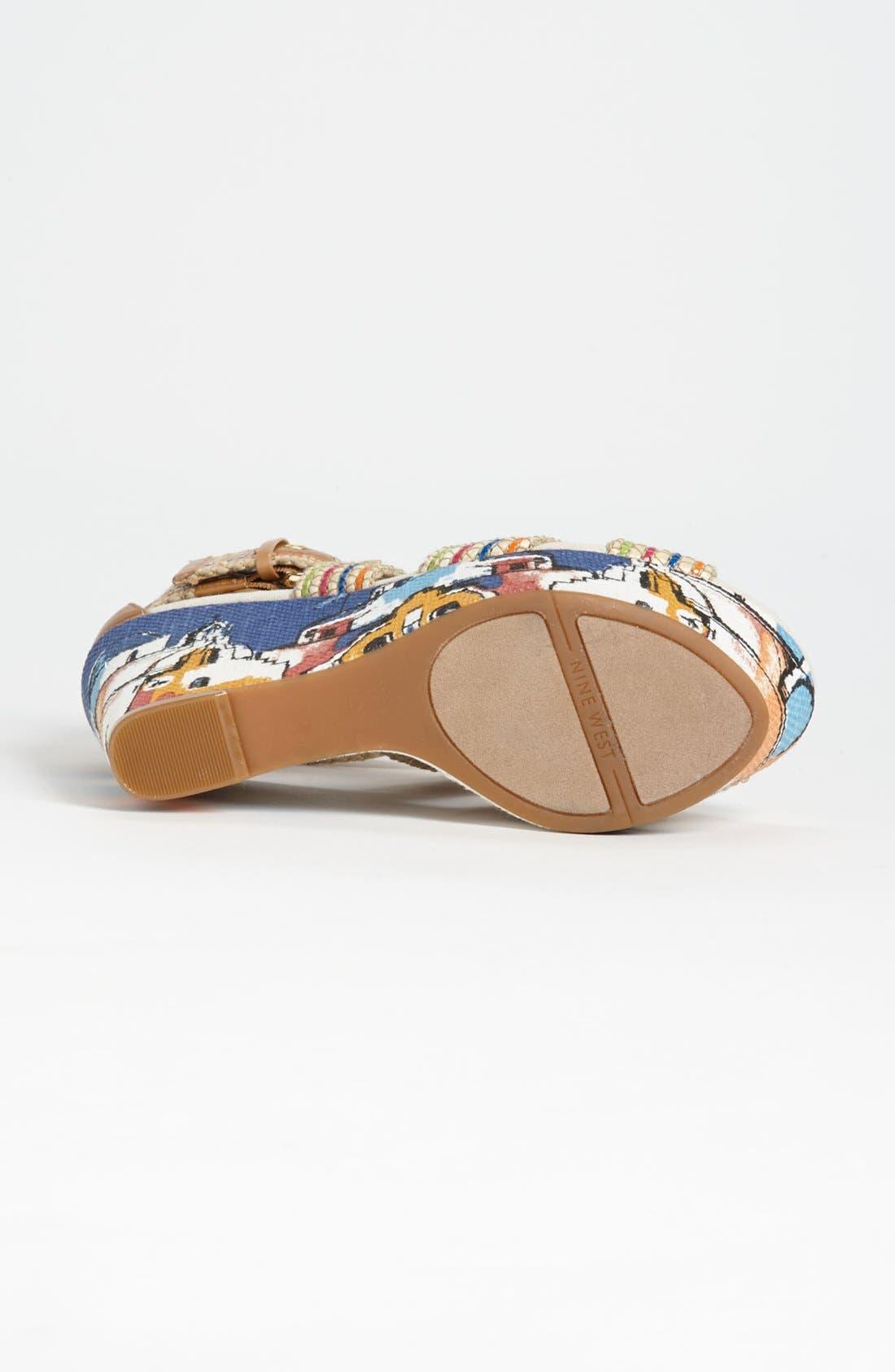 Alternate Image 4  - Nine West 'Mitchell' Wedge Sandal