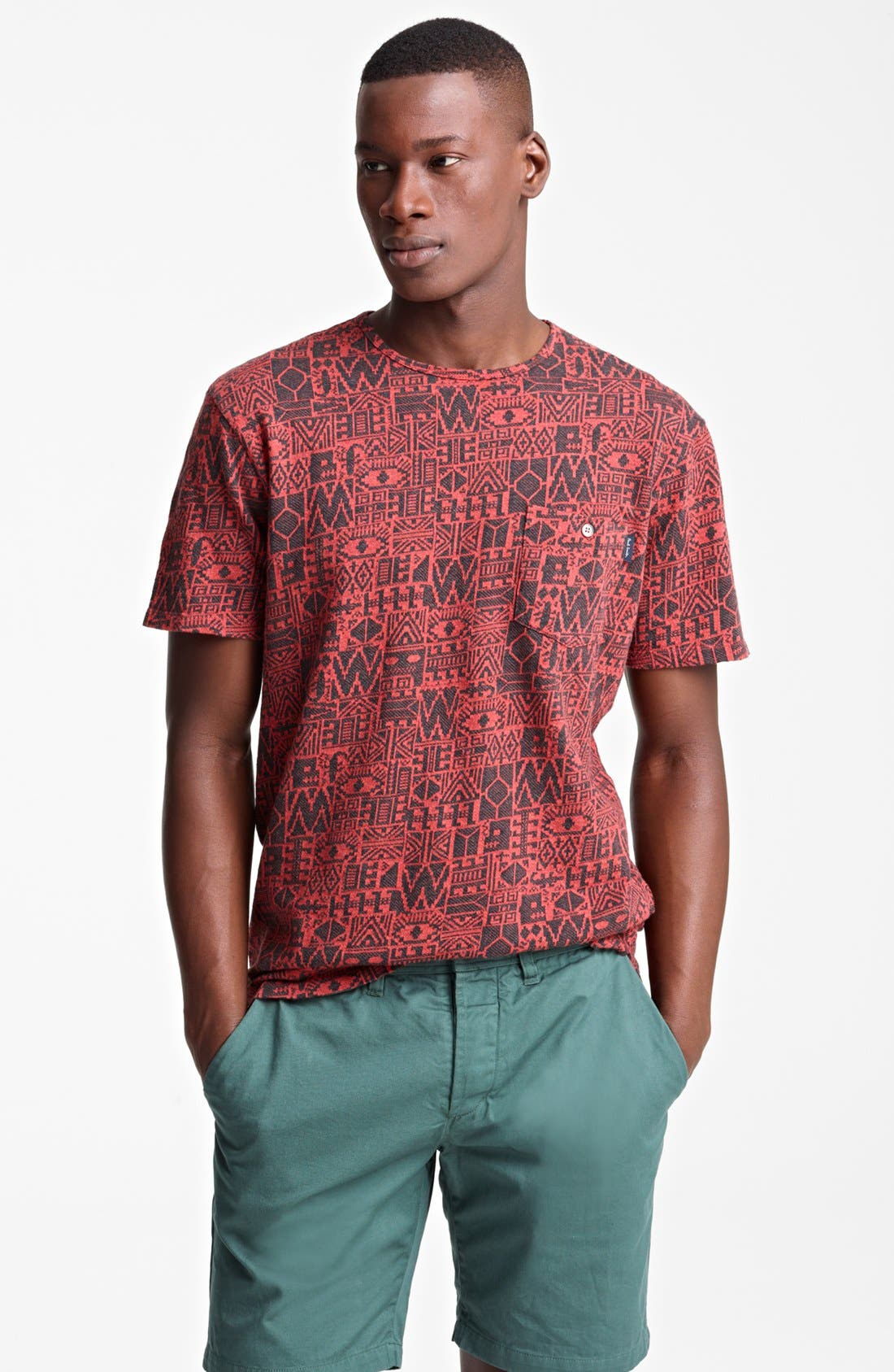 Alternate Image 1 Selected - Paul Smith Jeans Geometric Print T-Shirt