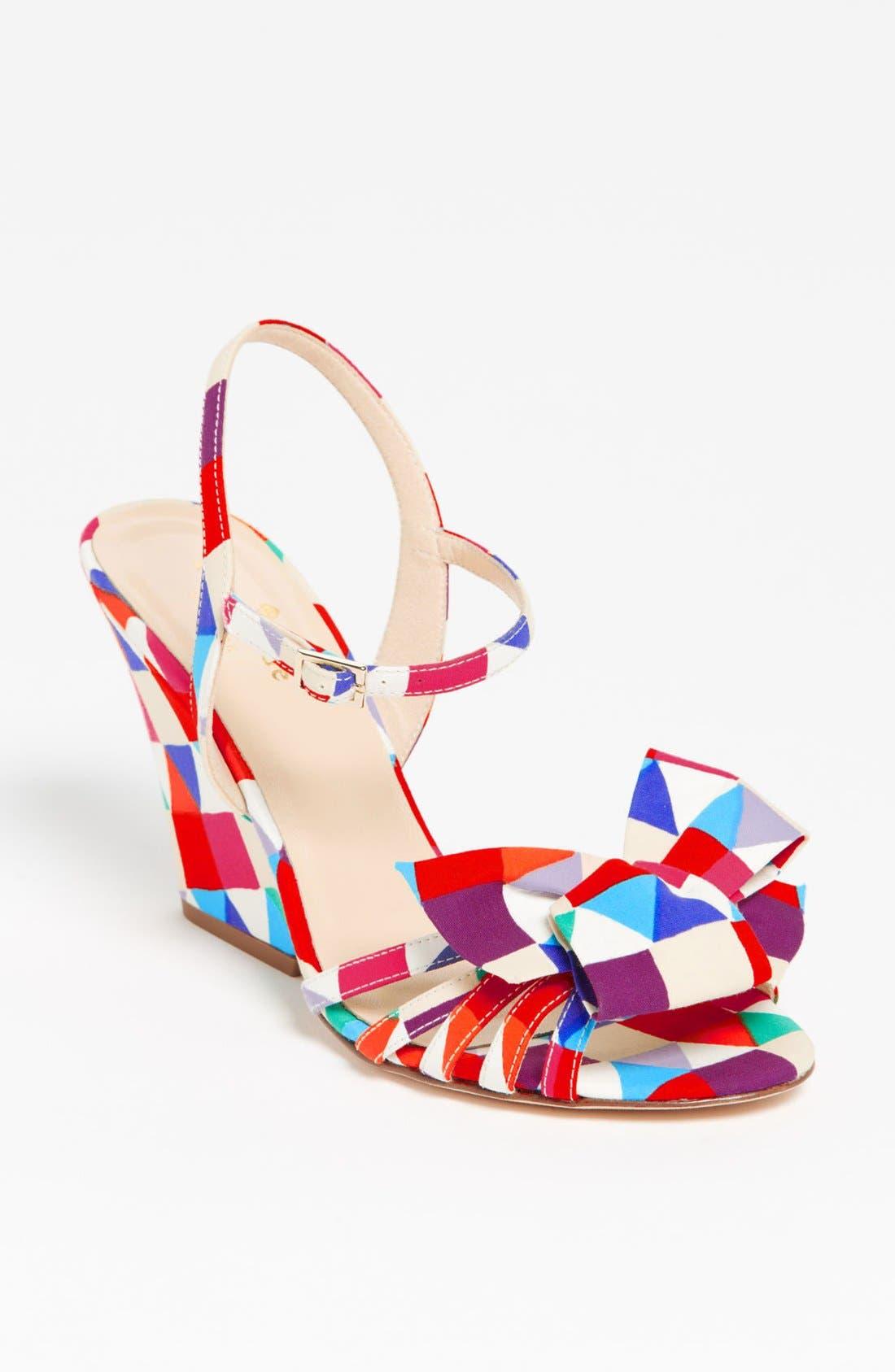 Alternate Image 1 Selected - kate spade new york 'salem' wedge sandal