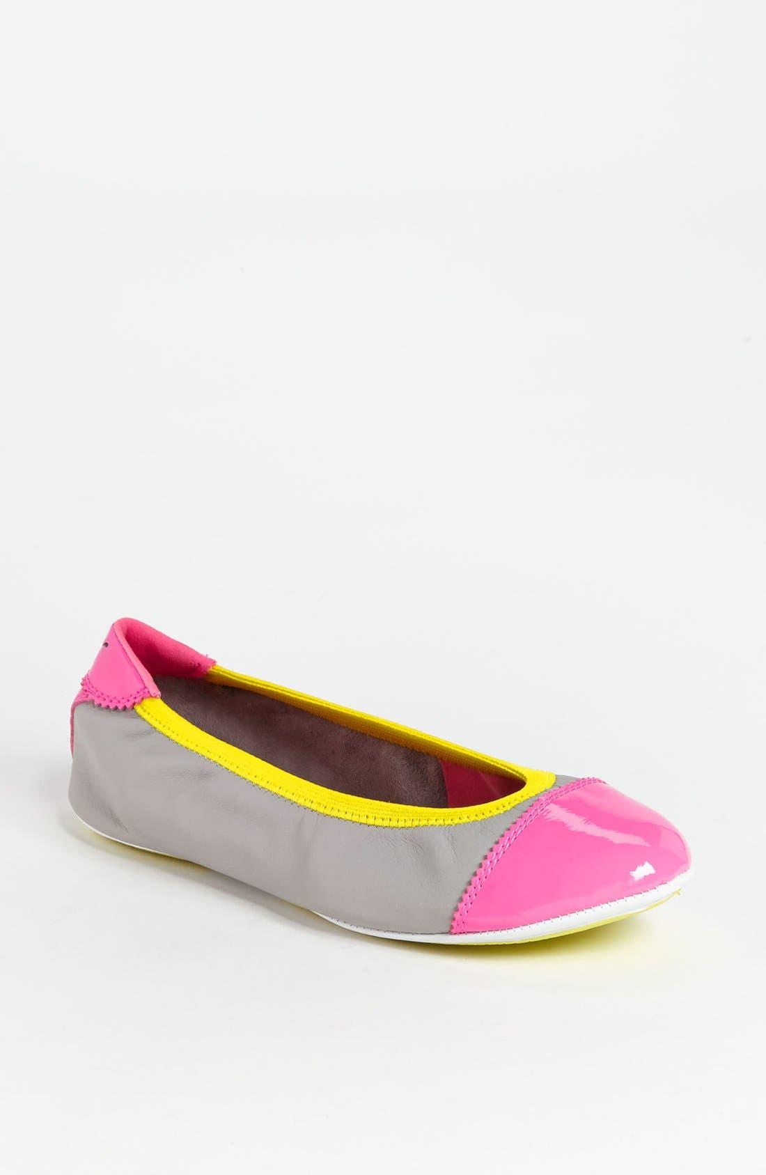 Main Image - PUMA 'Kitara' Cap Toe Ballet Flat (Women)