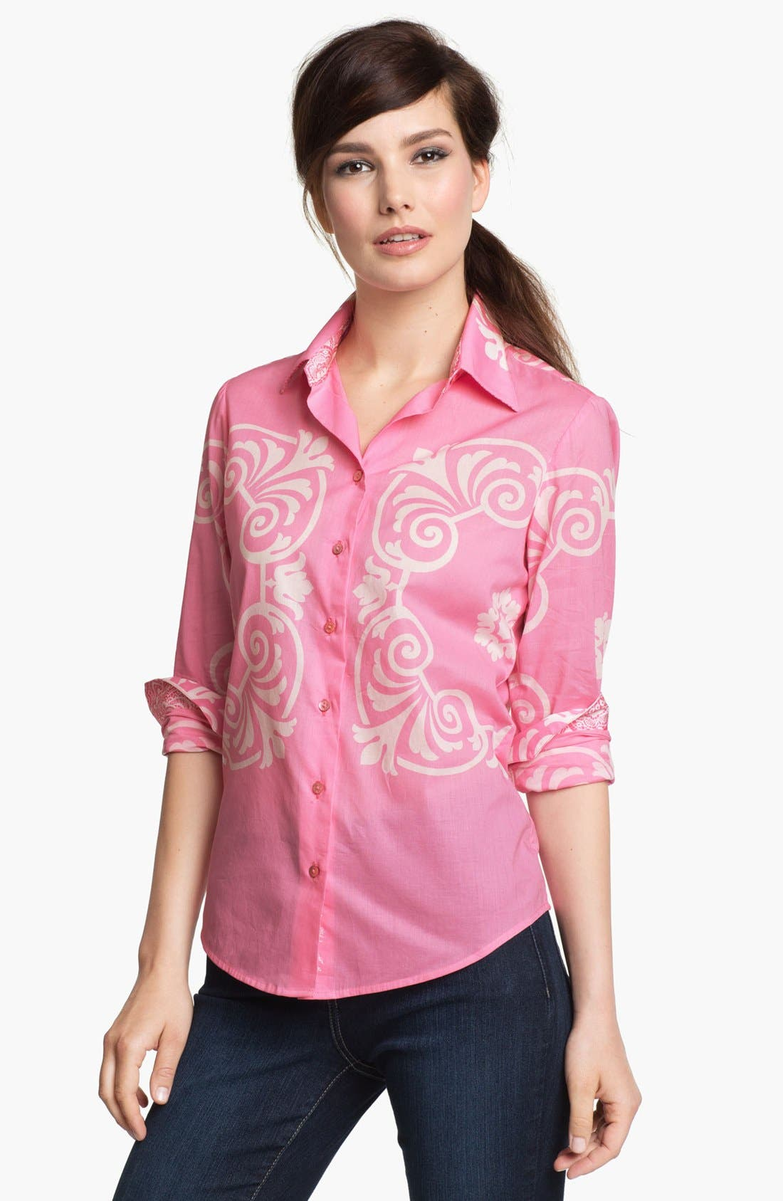 Alternate Image 1 Selected - Robert Graham 'Annie' Blouse