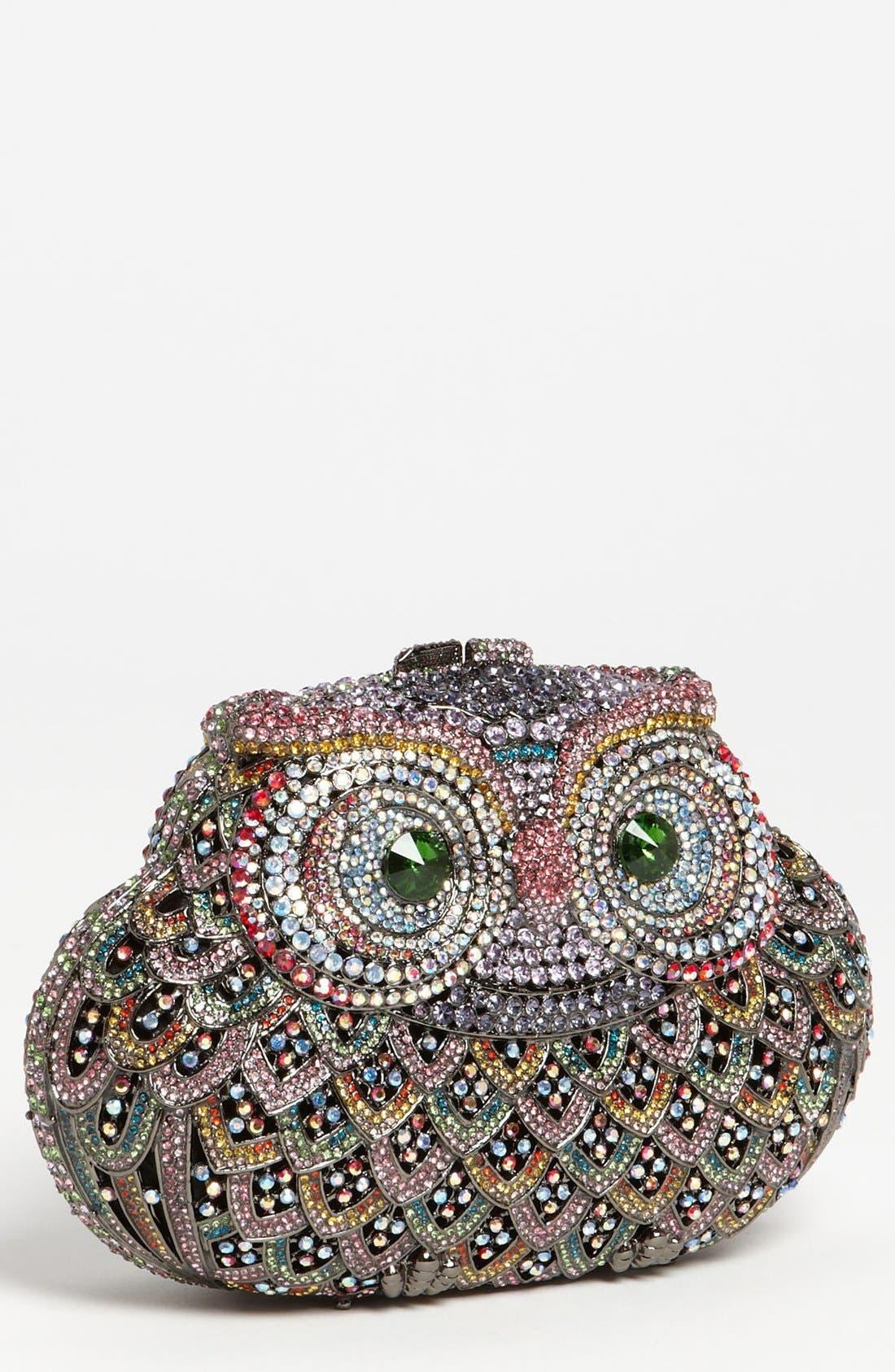Main Image - Natasha Couture Owl Clutch