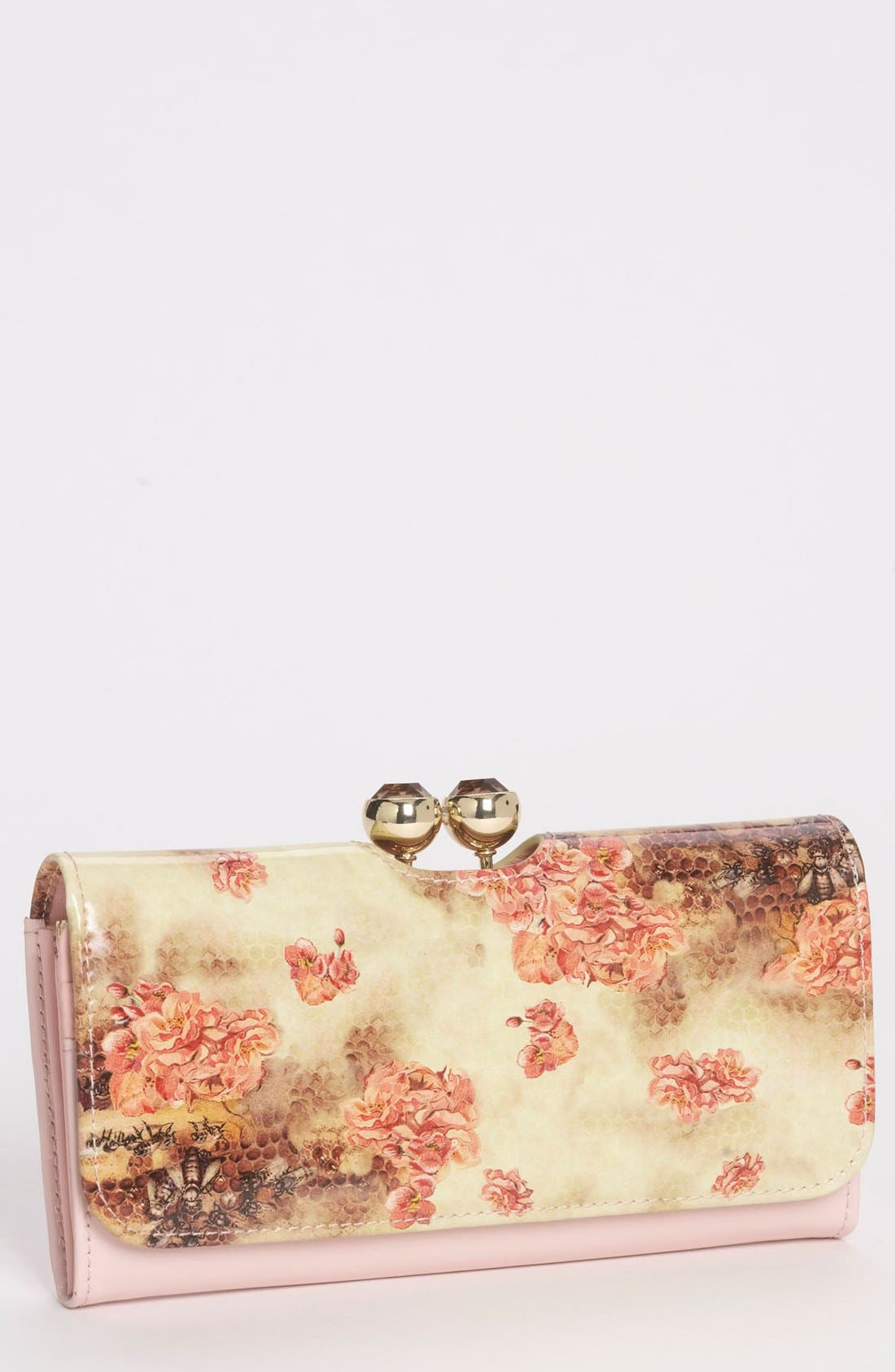Alternate Image 1 Selected - Ted Baker London 'Busy Bee' Matinee Wallet