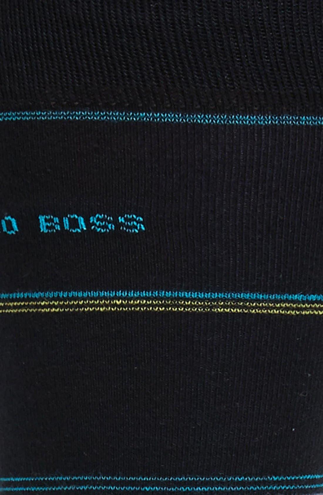 Alternate Image 2  - BOSS HUGO BOSS Cotton Blend Socks