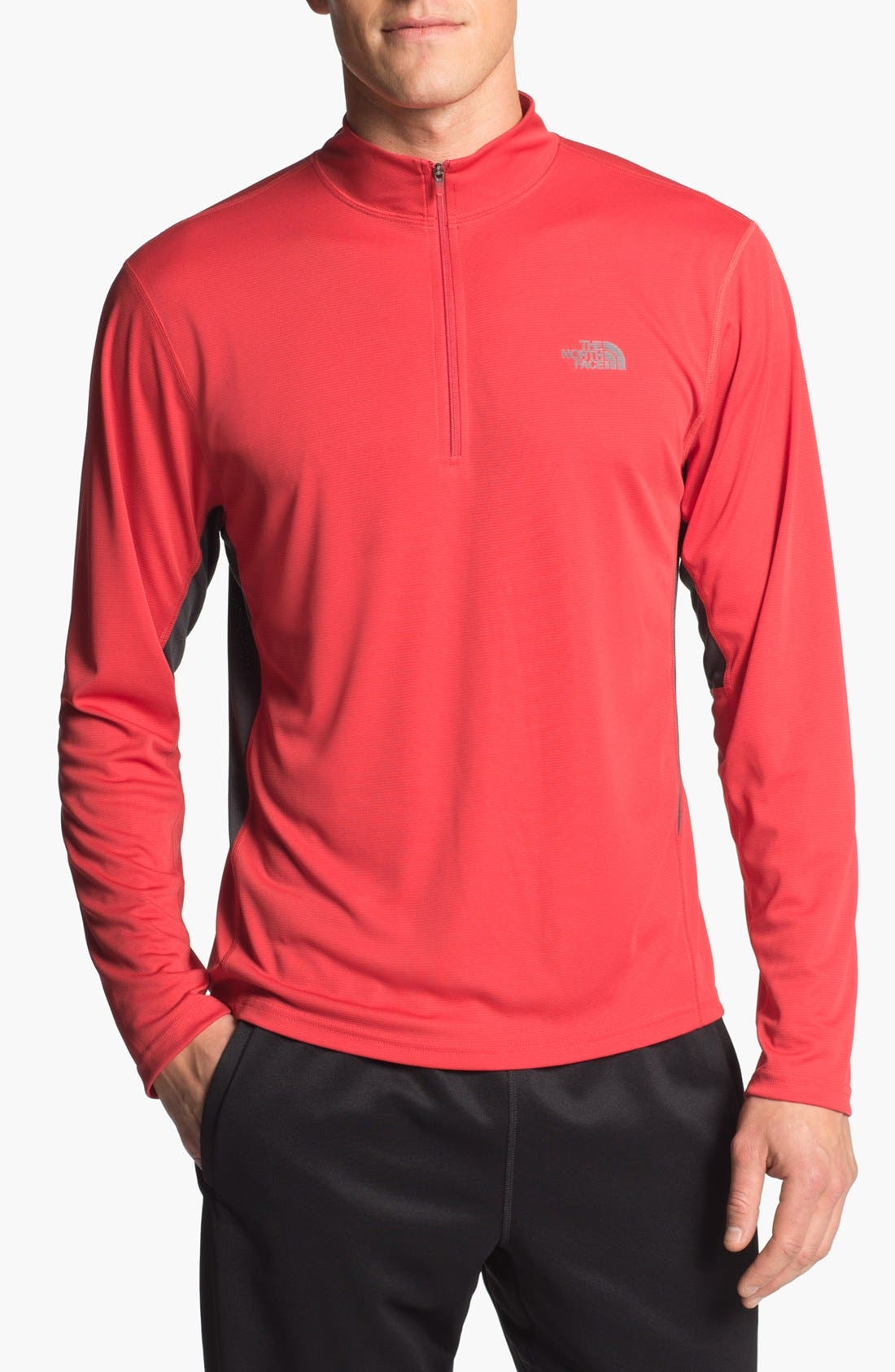 Alternate Image 1 Selected - The North Face 'Flex' Quarter Zip Pullover