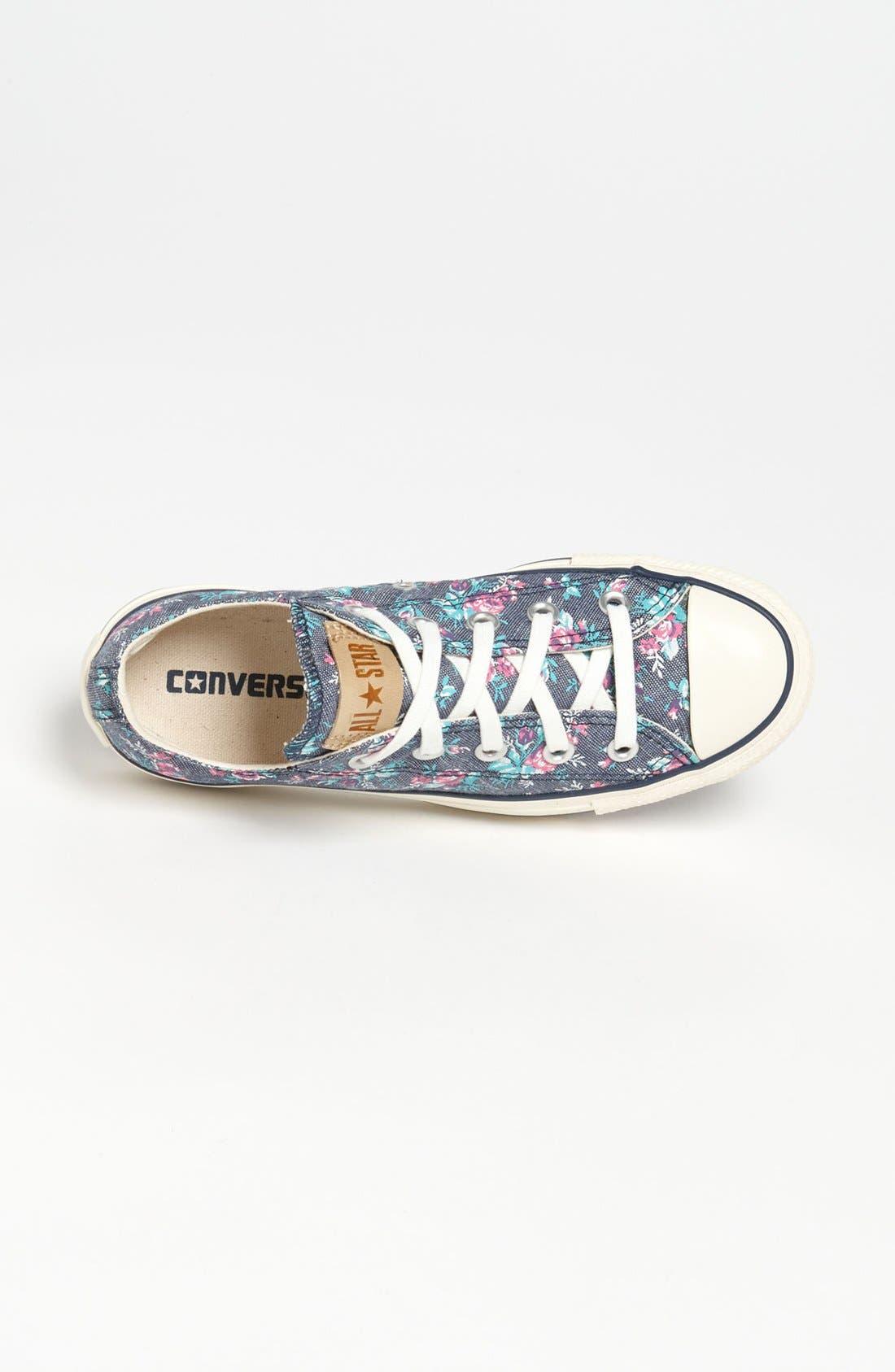 Alternate Image 3  - Converse Chuck Taylor® All Star® Floral Sneaker (Women)