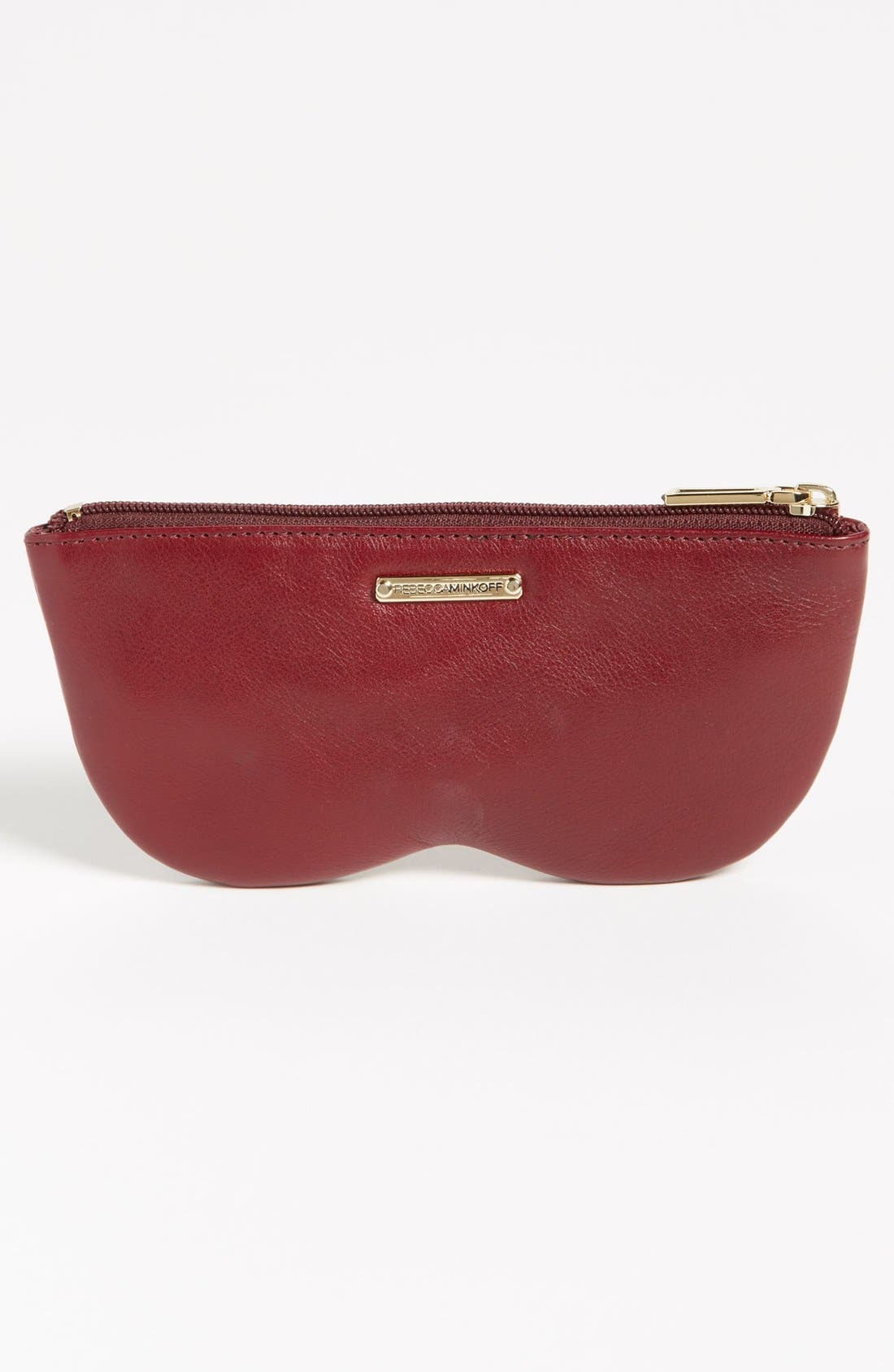 Alternate Image 4  - Rebecca Minkoff 'Nordy Girl' Leather Sunglasses Case