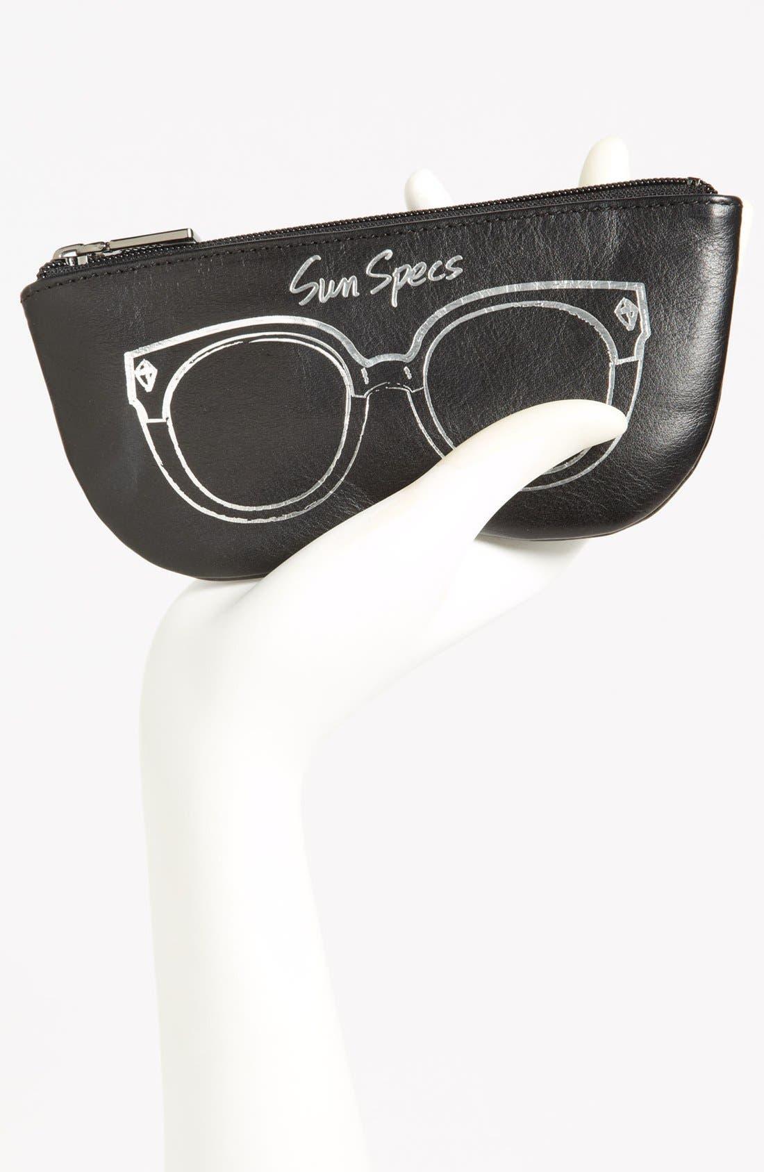 Alternate Image 2  - Rebecca Minkoff 'Sun Specs' Leather Sunglasses Case