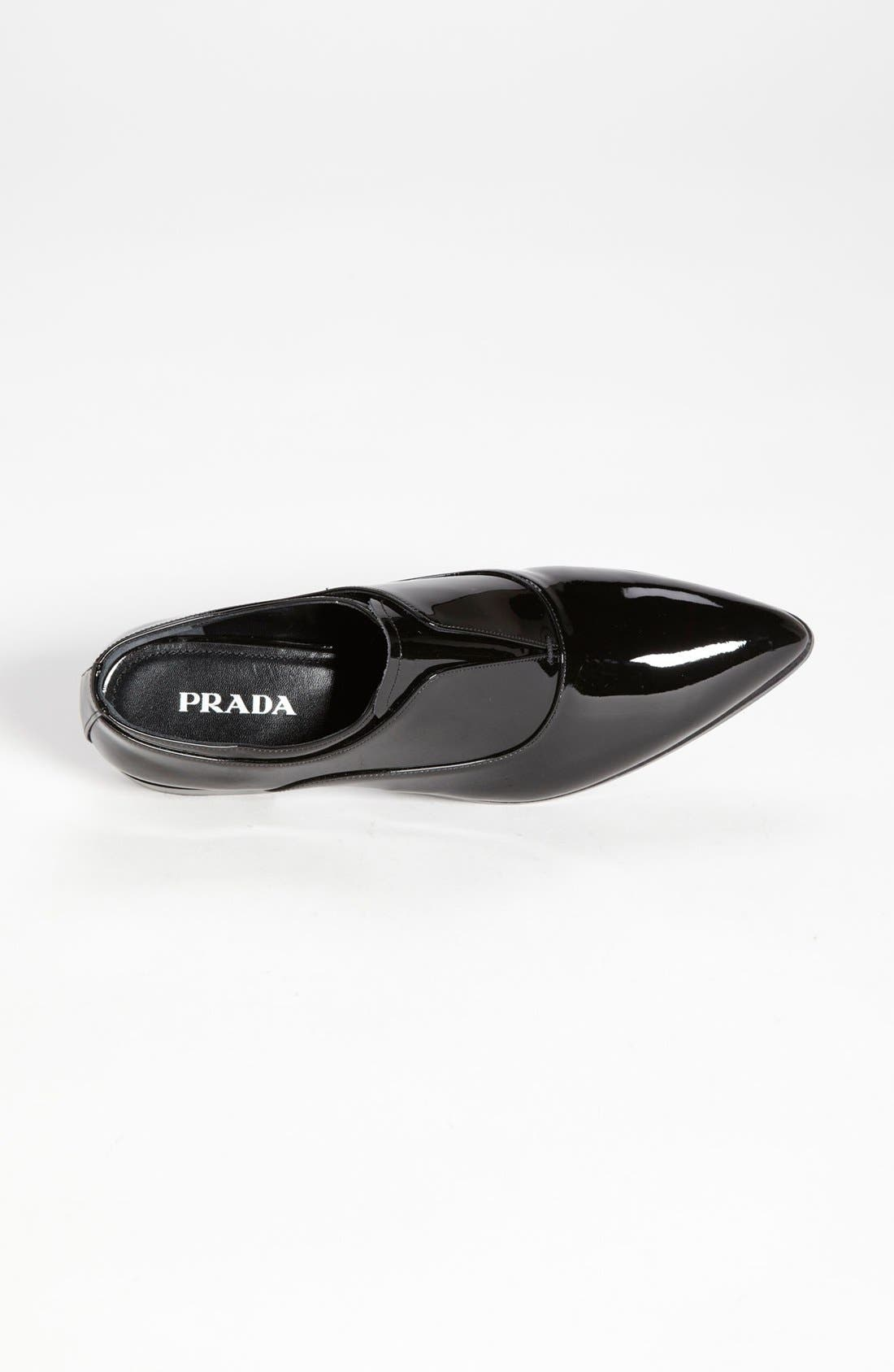 Alternate Image 3  - Prada Laceless Pointy Toe Oxford