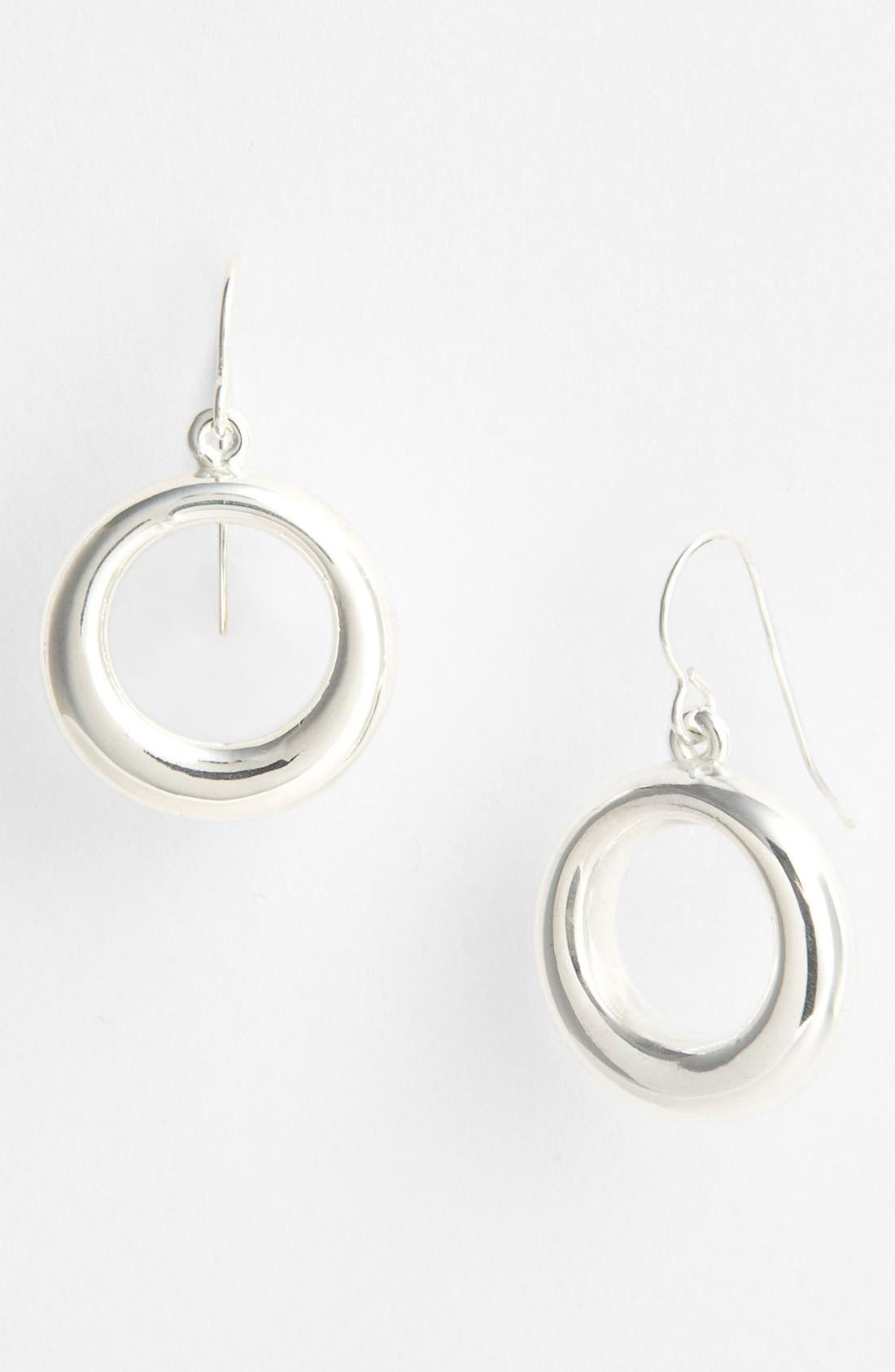 Main Image - Simon Sebbag 'Contemporary' Small Open Circle Drop Earrings