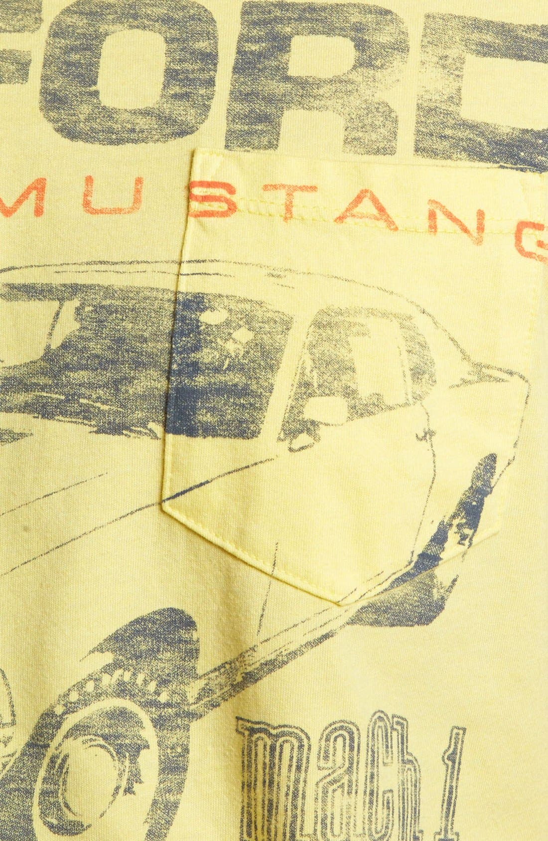 Alternate Image 3  - Junk Food 'Ford Mustang' T-Shirt