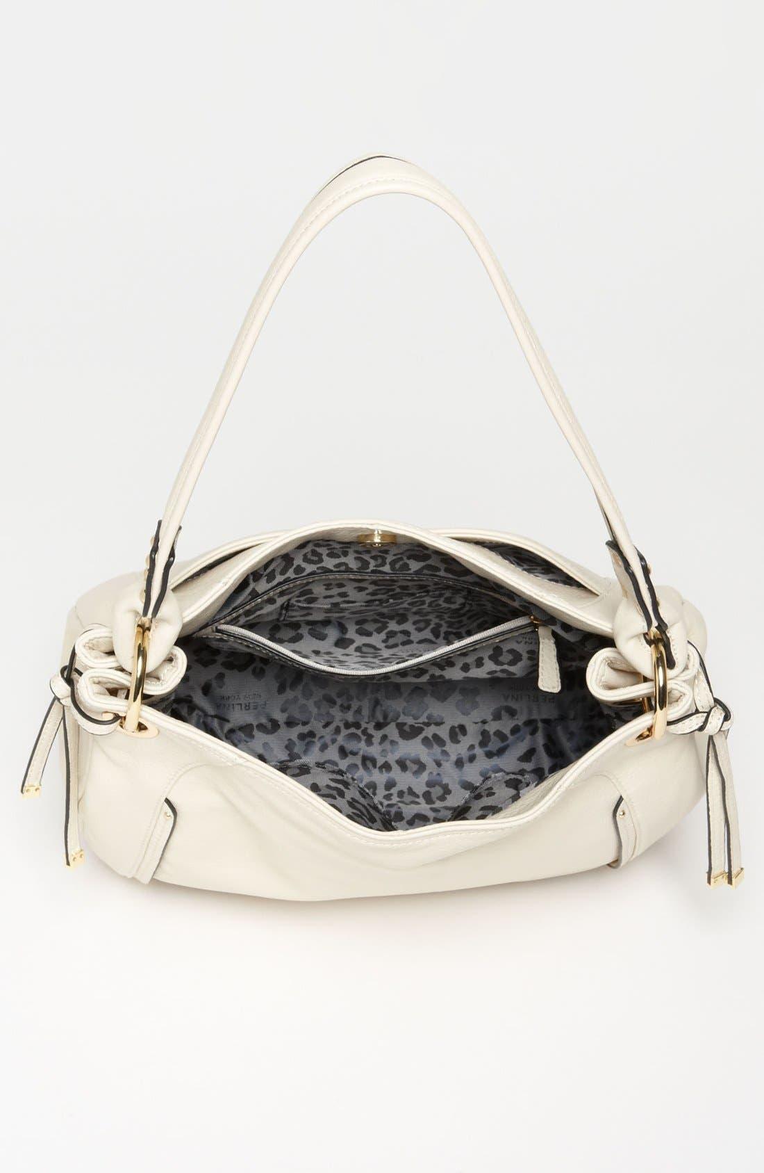 Alternate Image 3  - Perlina 'Simone' Leather Hobo, Medium