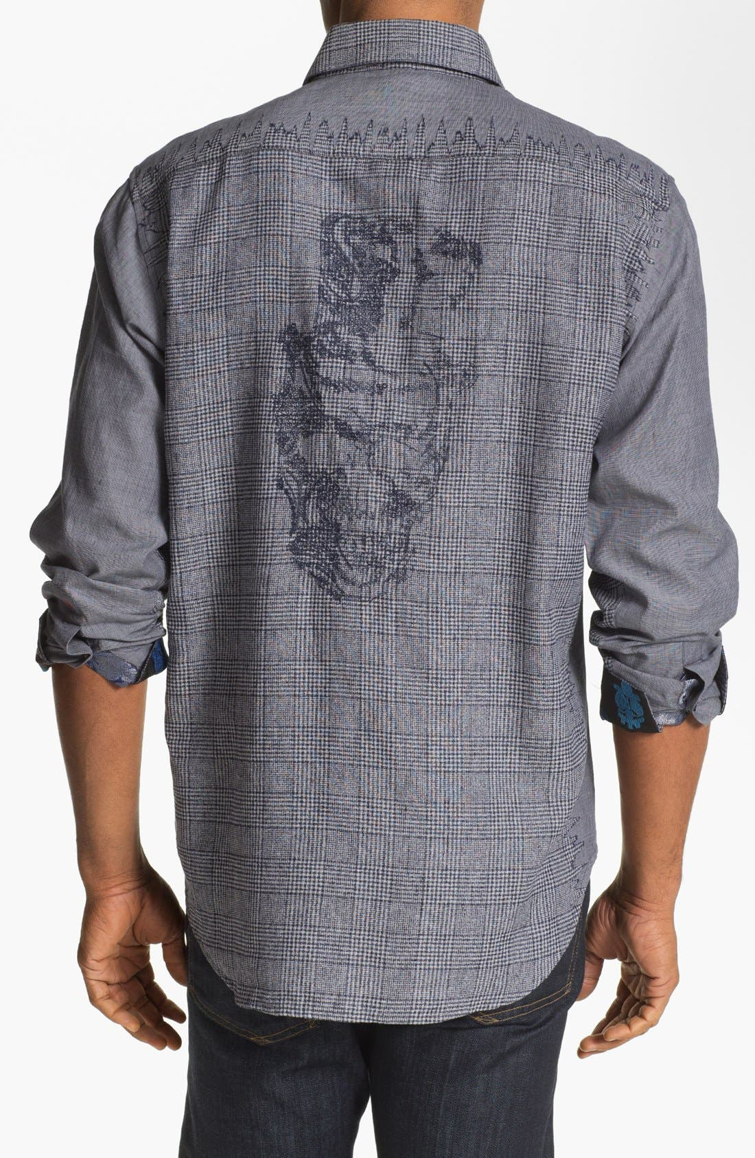 Alternate Image 2  - Robert Graham 'Crowne' Regular Fit Sport Shirt (Limited Edition)