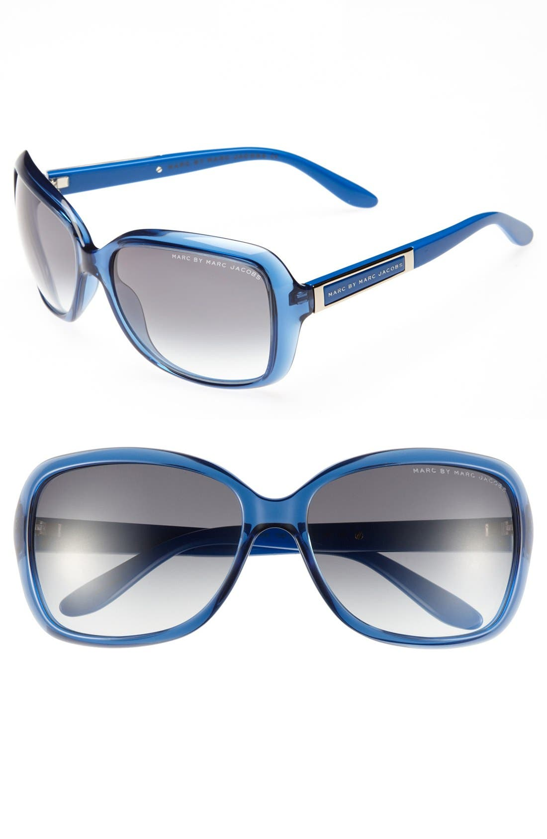 Alternate Image 1 Selected - MARC BY MARC JACOBS 58mm Oversized Sunglasses