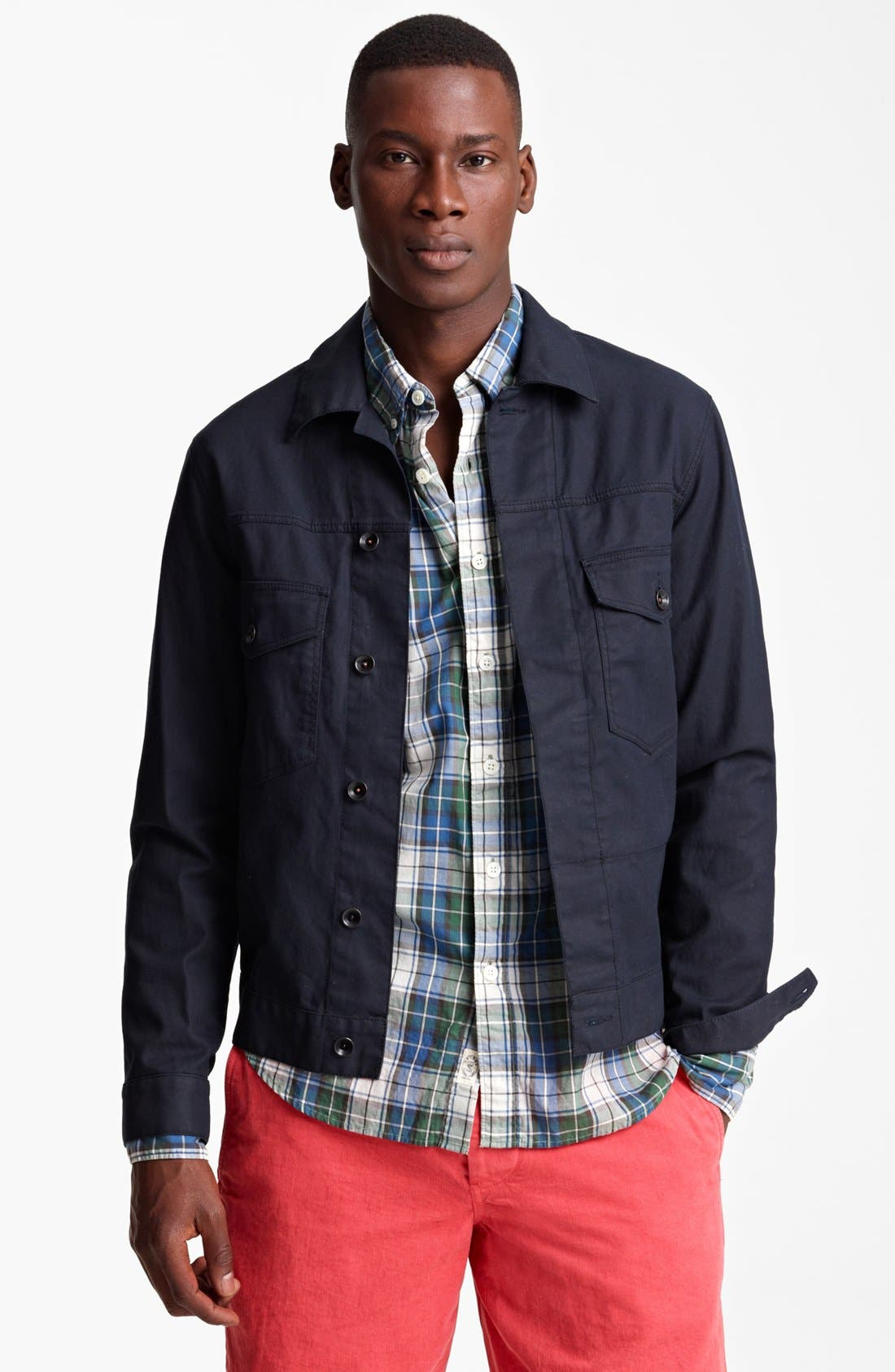 Alternate Image 1 Selected - Todd Snyder Denim Jacket
