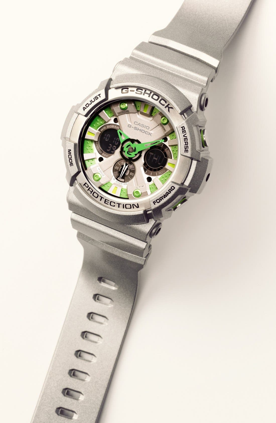 Alternate Image 4  - G-Shock 'X-Large' Dual Movement Watch, 55mm x 51mm
