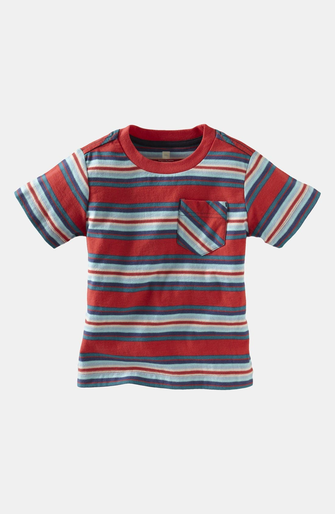 Main Image - Tea Collection 'Venda' Stripe T-Shirt (Toddler)
