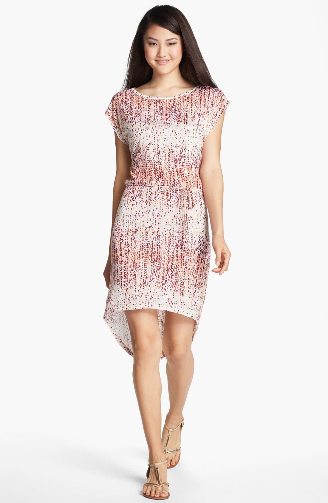 Main Image - Loveappella High/Low Dress (Petite)