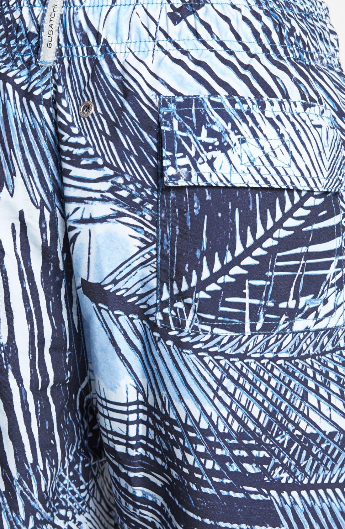 Alternate Image 3  - BUGATCHI Swim Trunks