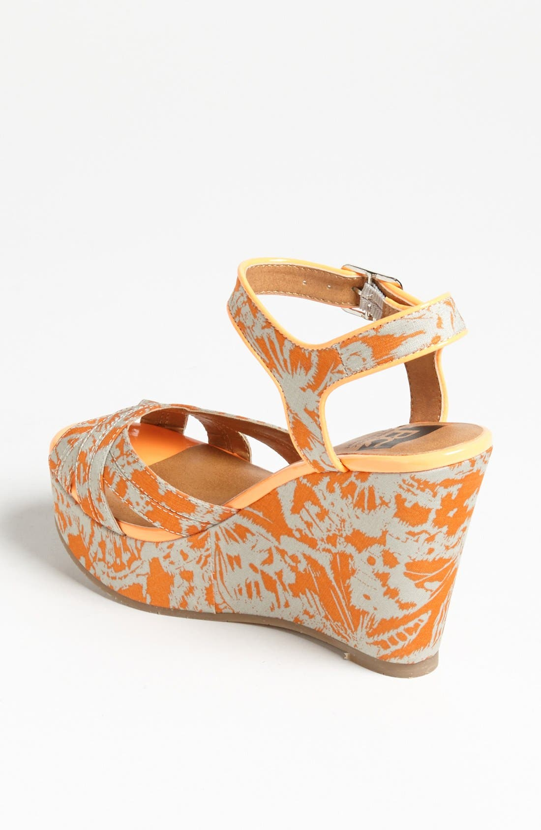 Alternate Image 2  - BC Footwear 'Kissable' Ankle Strap Wedge