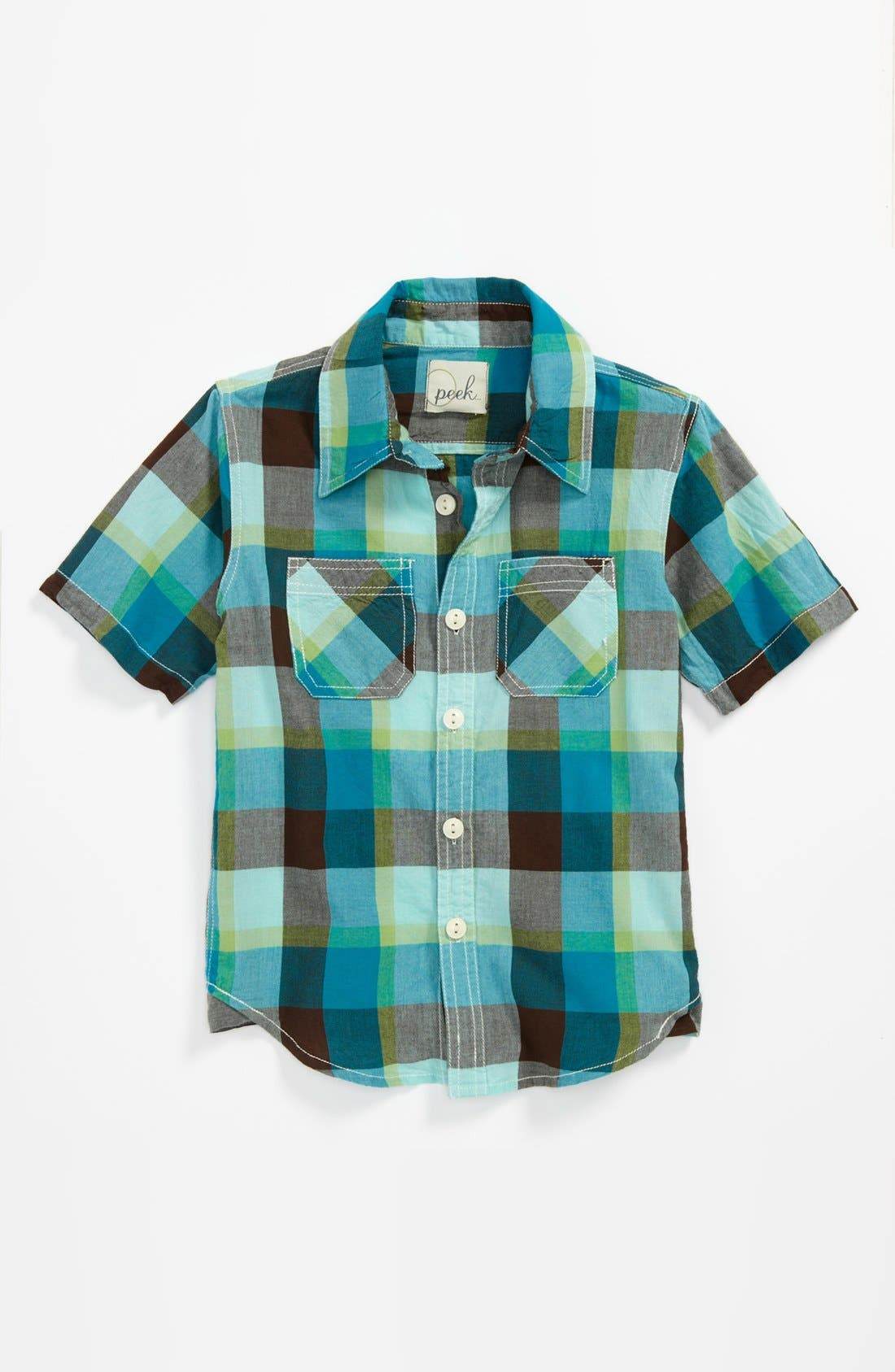 Alternate Image 1 Selected - Peek 'Clint' Utility Shirt (Big Boys)