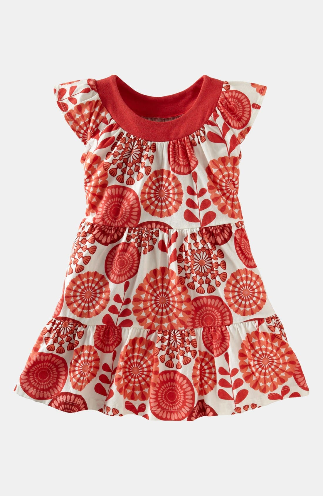 Alternate Image 1 Selected - Tea Collection Floral Surf Minidress (Little Girls & Big Girls)