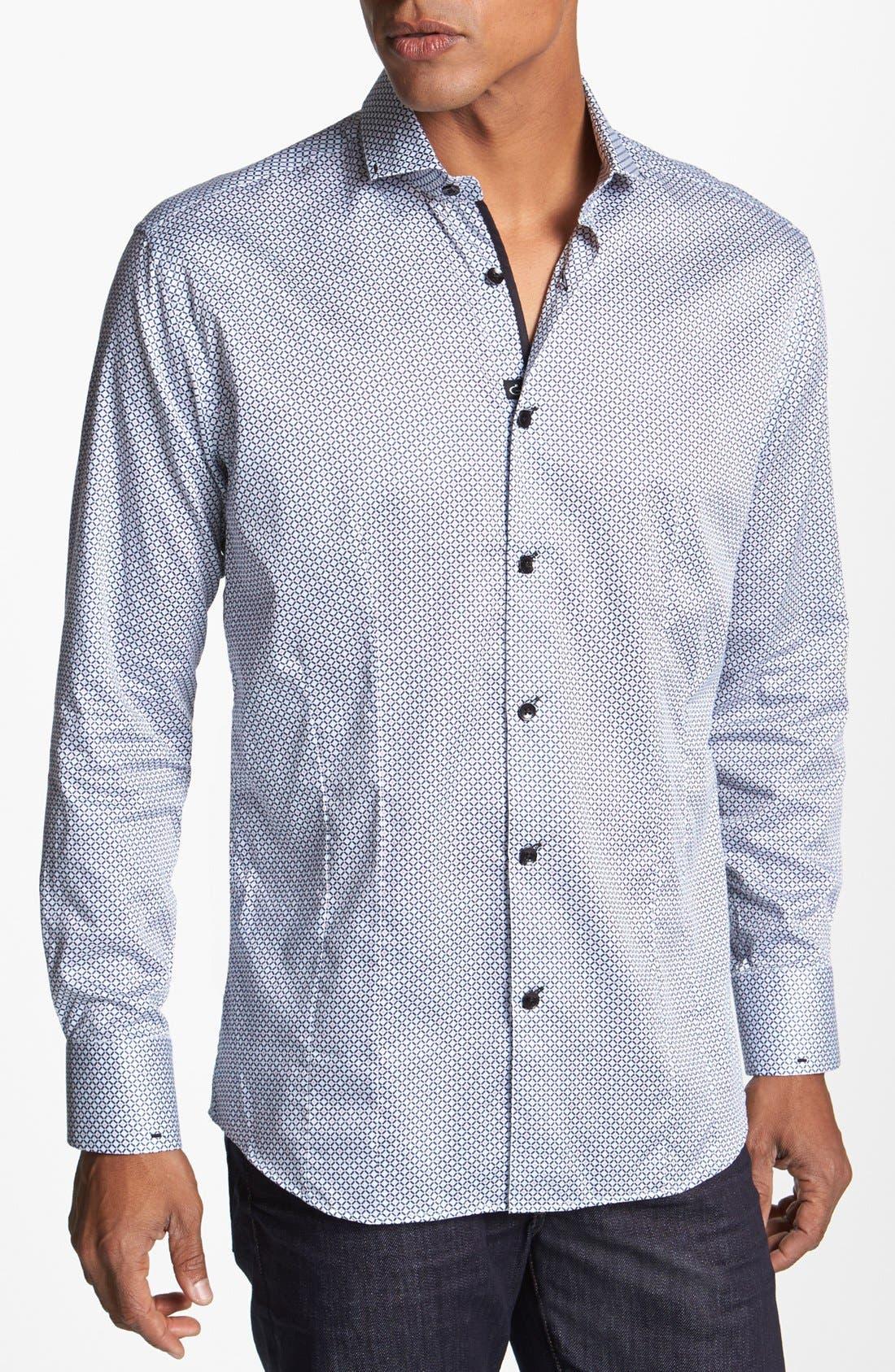 Alternate Image 1 Selected - Bogosse 'Michael' Trim Fit Sport Shirt