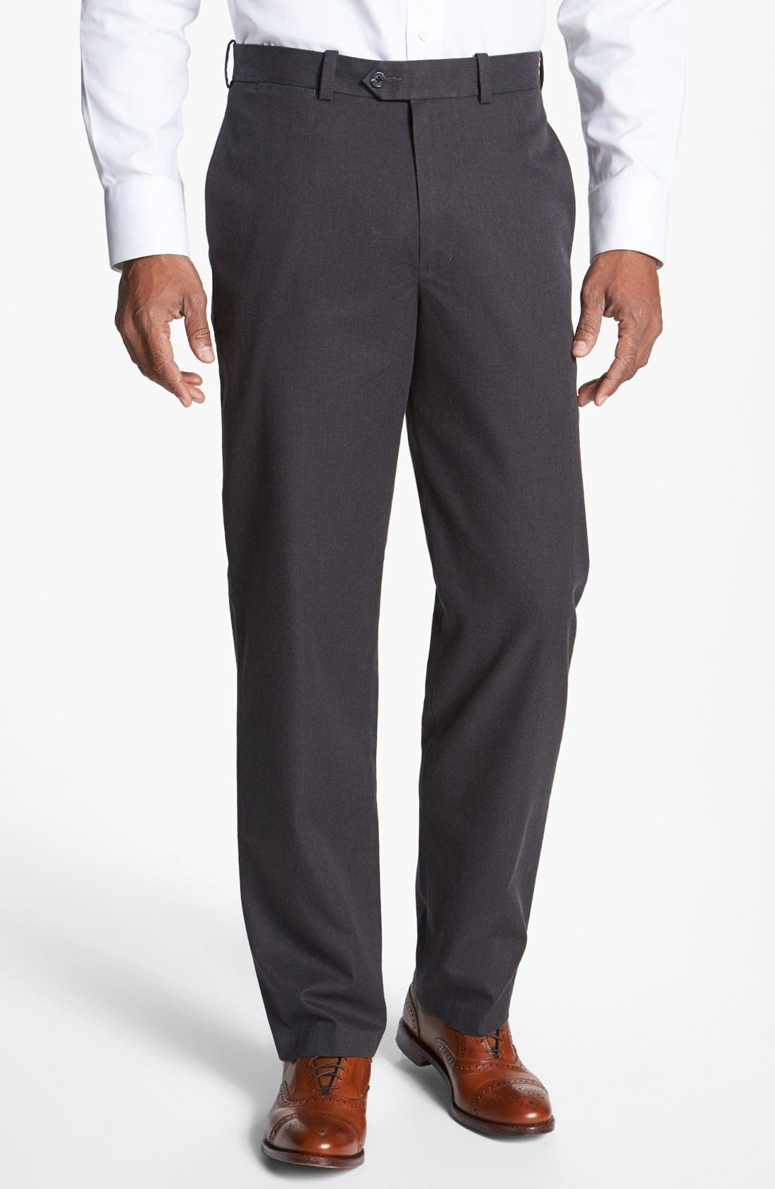 Alternate Image 1 Selected - John W. Nordstrom® Mélange Supima® Cotton Pants