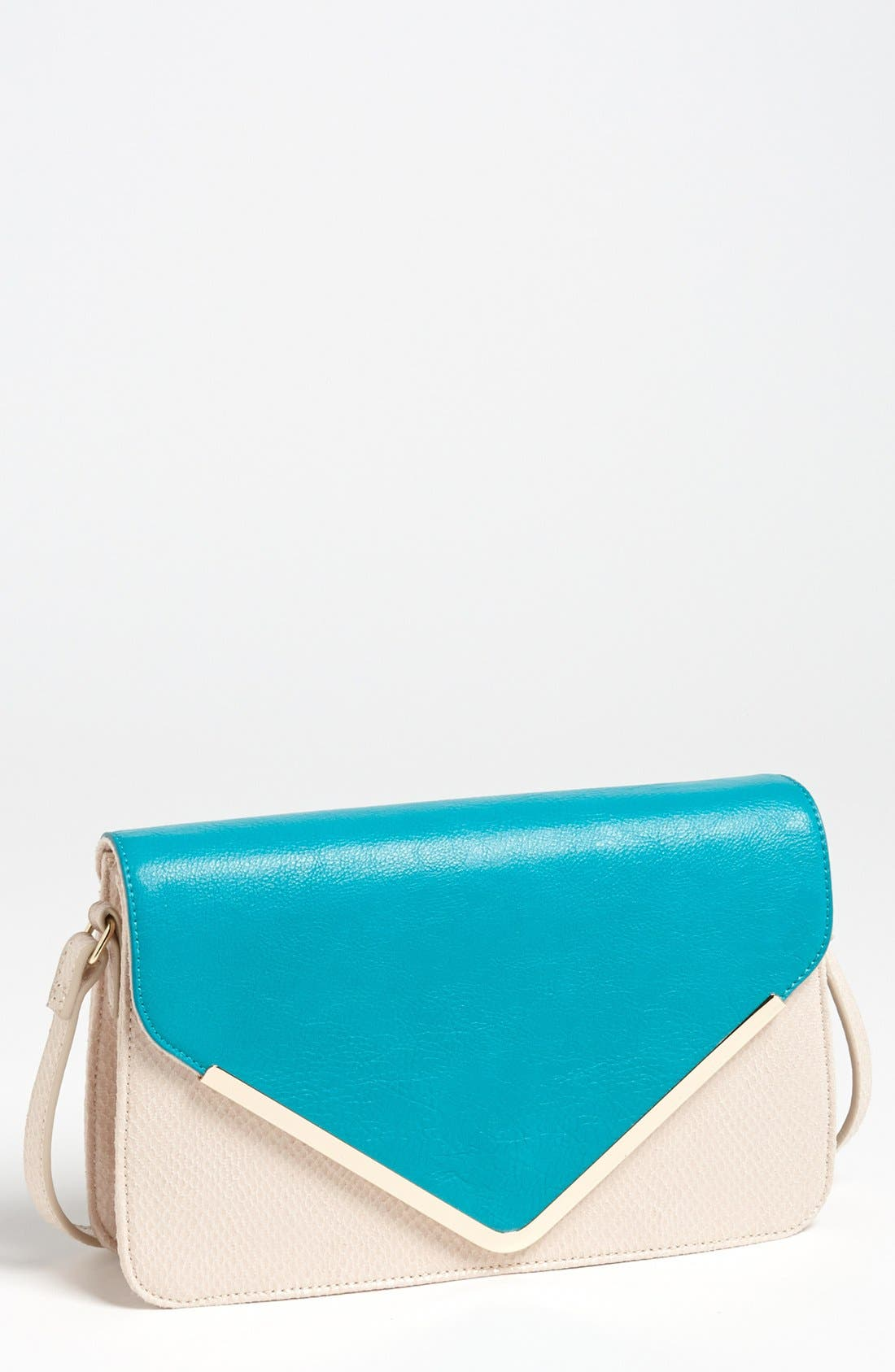 Alternate Image 1 Selected - Izzy & Ali 'Giselle' Faux Leather Shoulder Bag