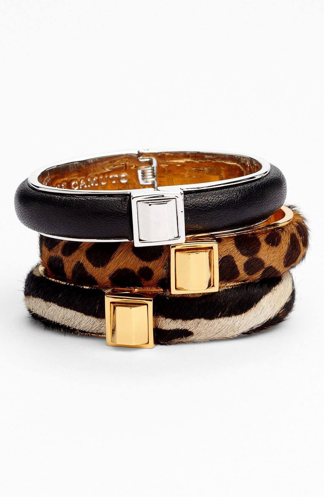Alternate Image 1 Selected - Vince Camuto 'Call of the Wild' Hinged Bangle (Nordstrom Exclusive)