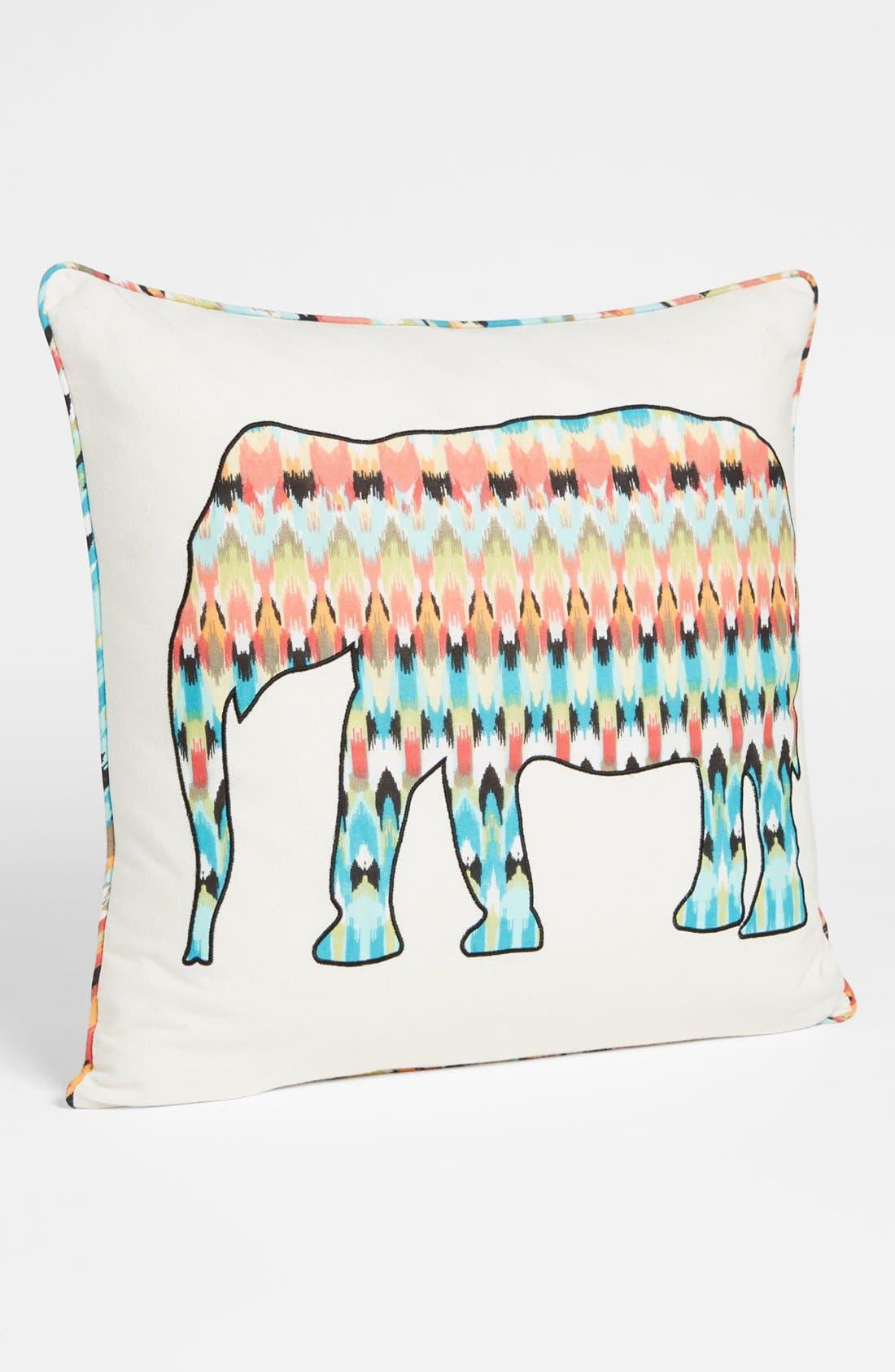 Alternate Image 1 Selected - Levtex 'Cordova' Elephant Pillow