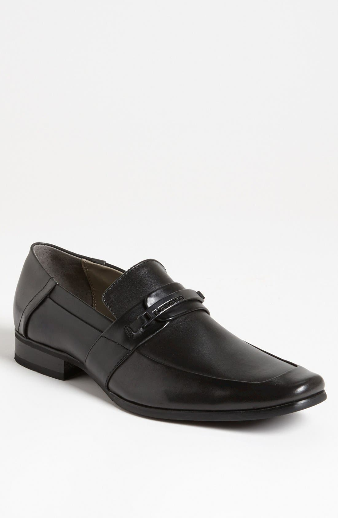 Alternate Image 1 Selected - Calvin Klein 'Brice' Bit Loafer