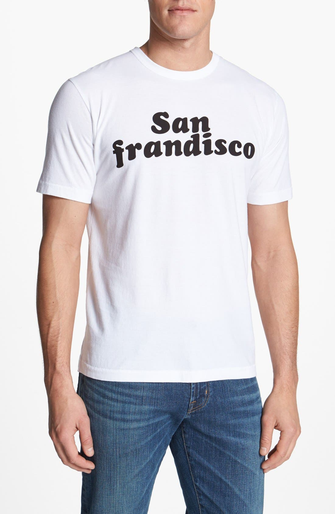 Alternate Image 1 Selected - French Connection 'San Frandisco' T-Shirt