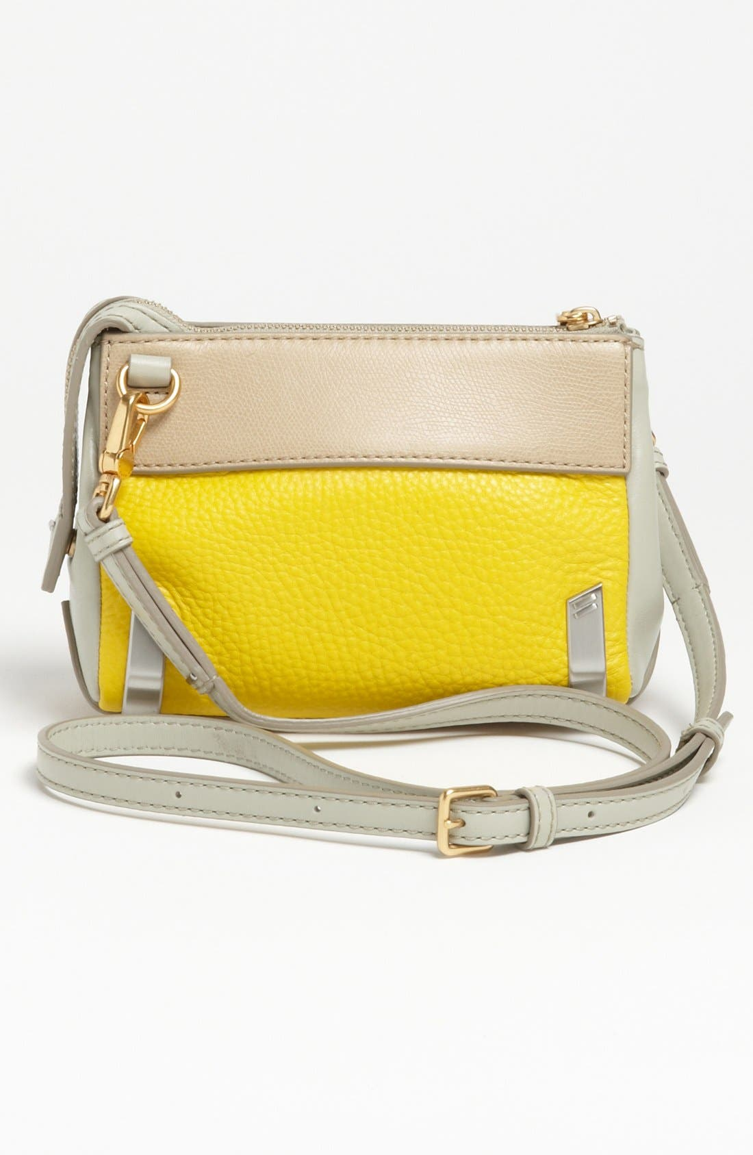 Alternate Image 4  - MARC BY MARC JACOBS 'Sheltered Island' Colorblock Leather Camera Bag
