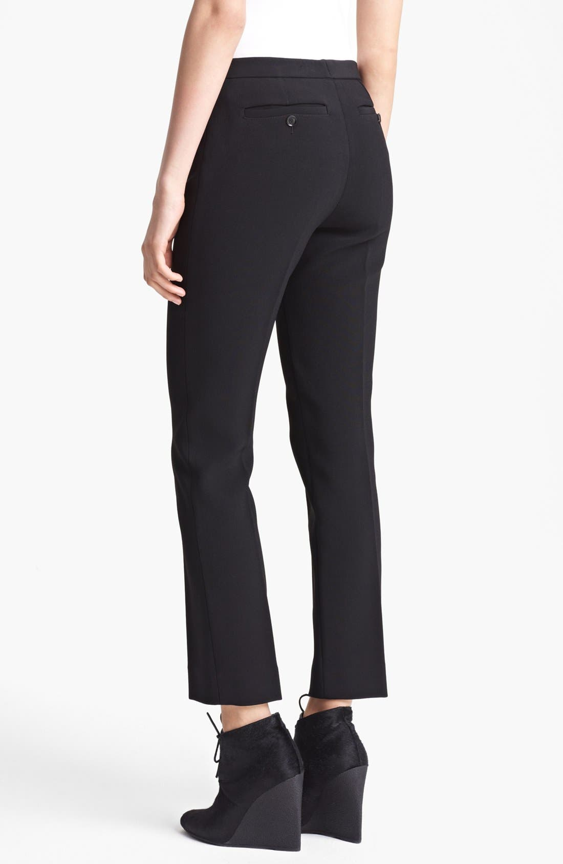 Alternate Image 2  - Burberry Prorsum Narrow Leg Stretch Crepe Pants