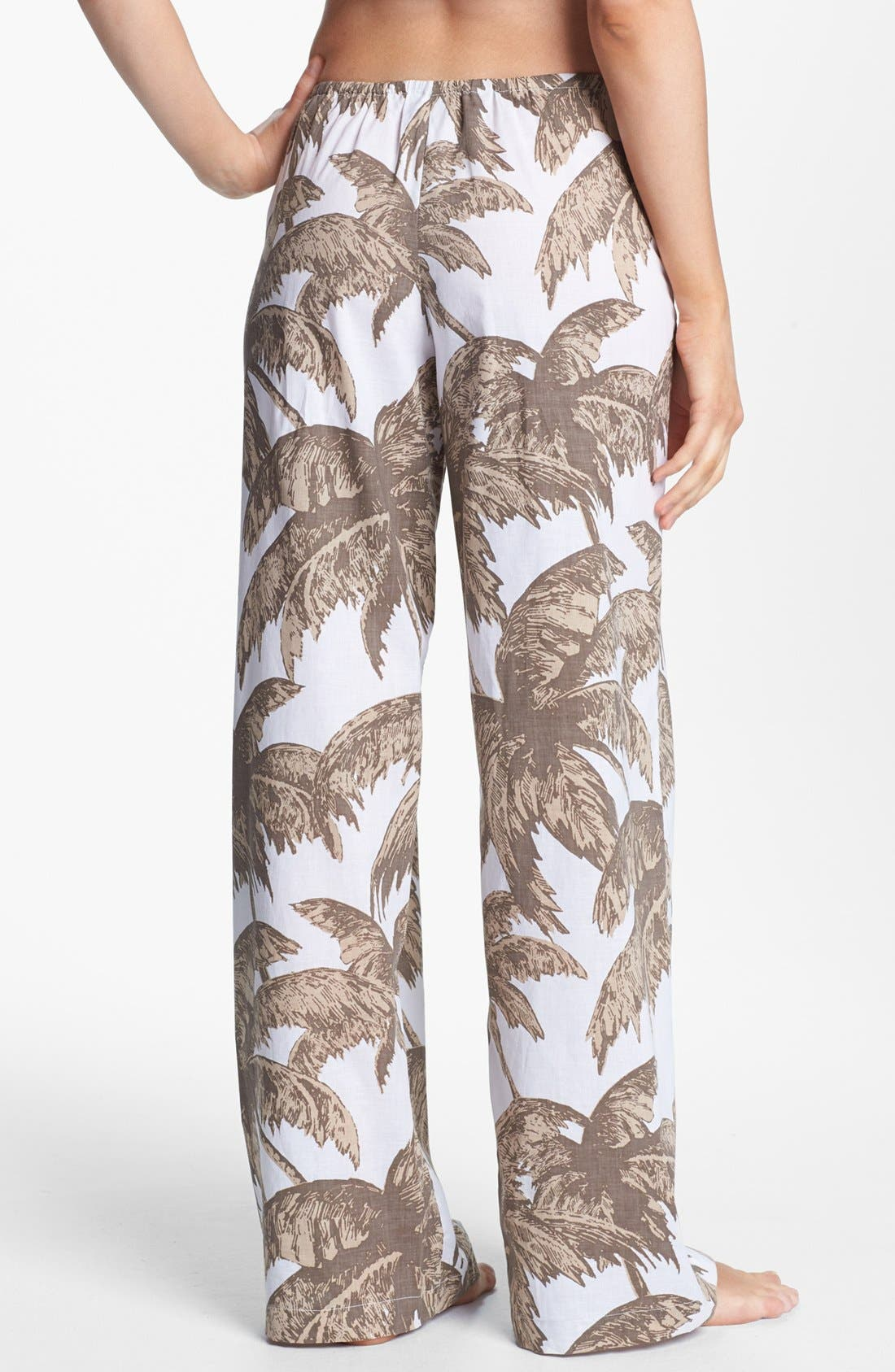 Alternate Image 2  - Tommy Bahama 'Coconut Grove Palm' Cover-Up Pants