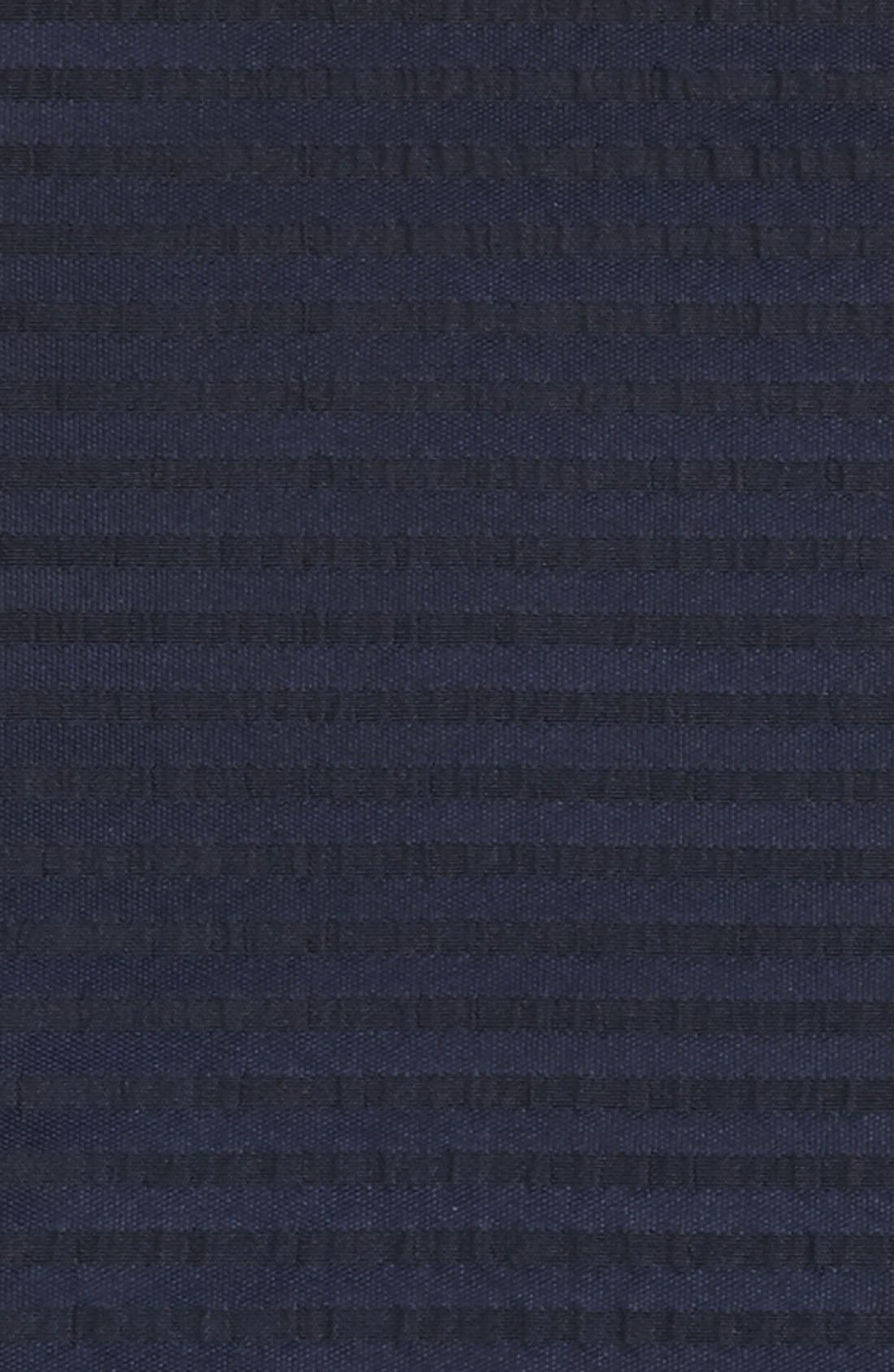 Alternate Image 3  - BOSS Black Silk Pocket Square