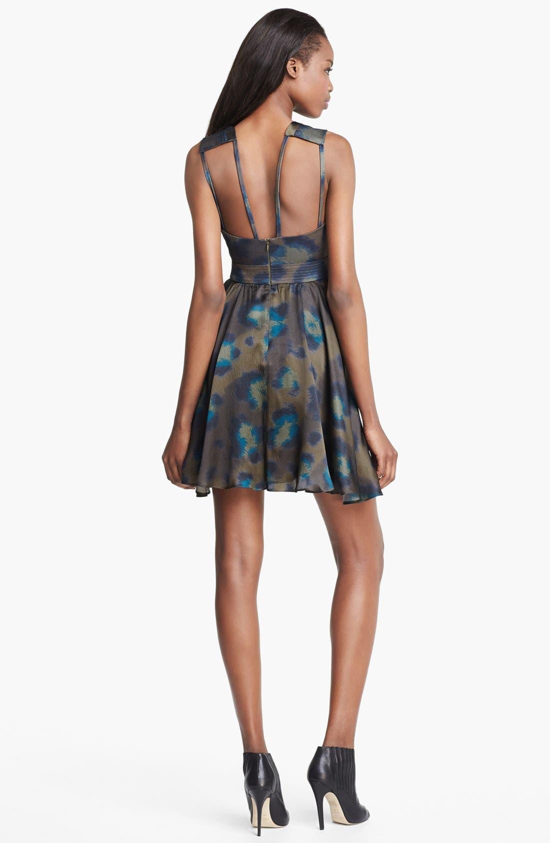 Alternate Image 2  - KENZO Twist Neck Leopard Print Dress