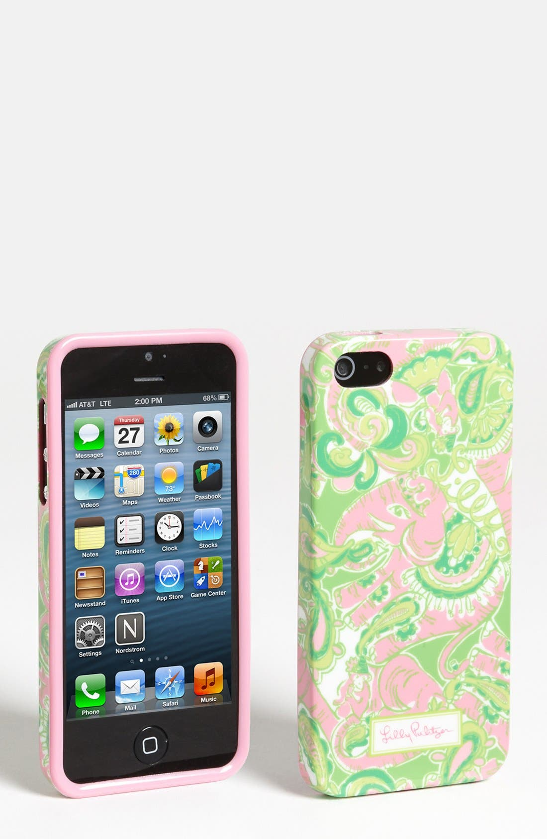 Alternate Image 1 Selected - Lilly Pulitzer® 'Chin Chin' iPhone 5 Case