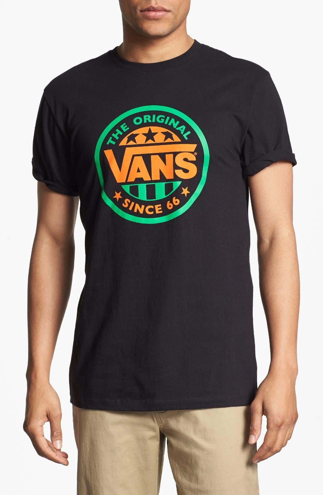 Alternate Image 1 Selected - Vans 'Original' Graphic T-Shirt