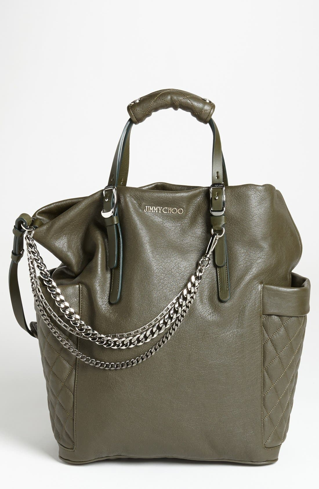 Alternate Image 1 Selected - Jimmy Choo 'Blare' Leather Tote