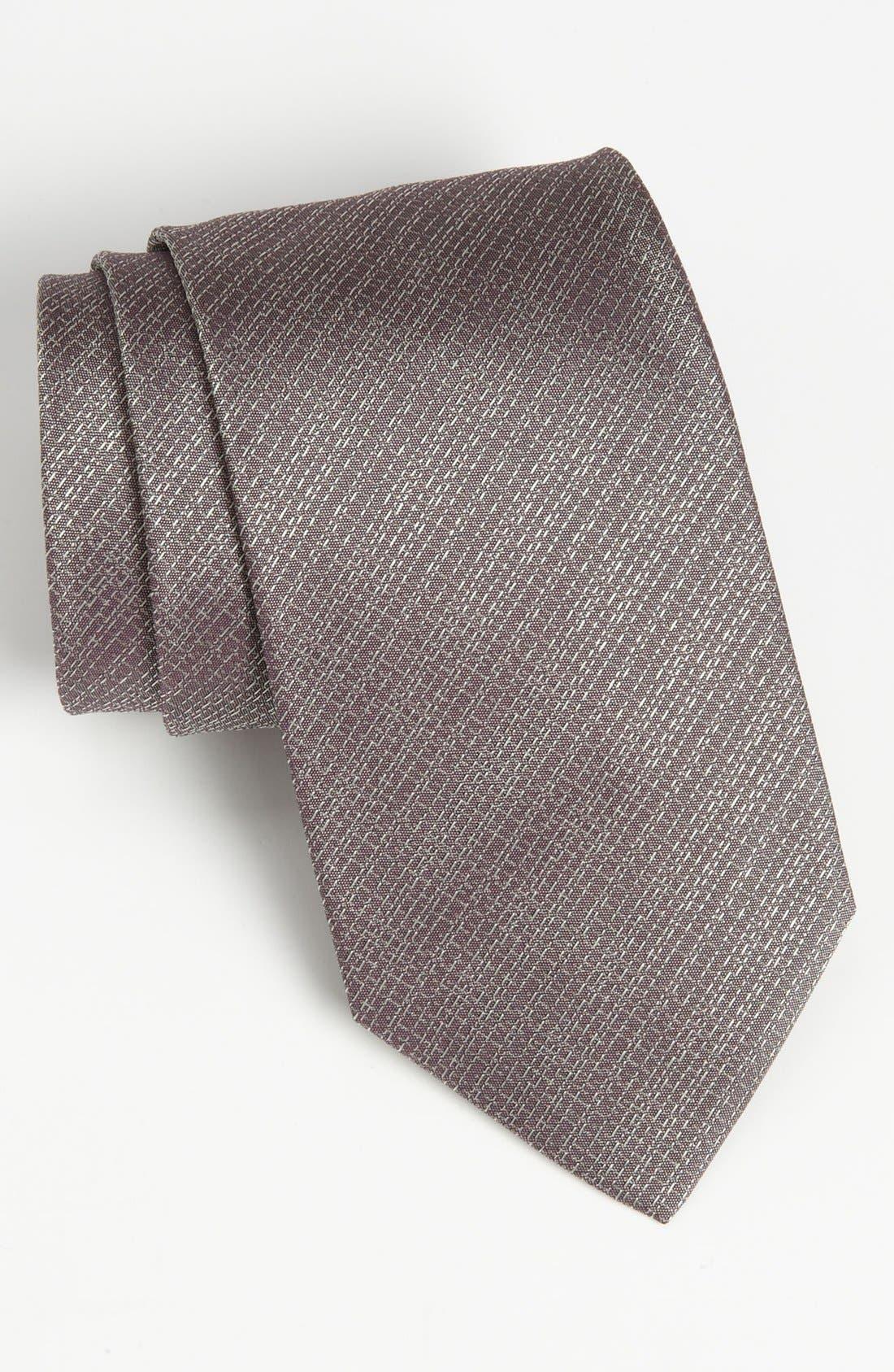 Main Image - Armani Collezioni Woven Silk Tie