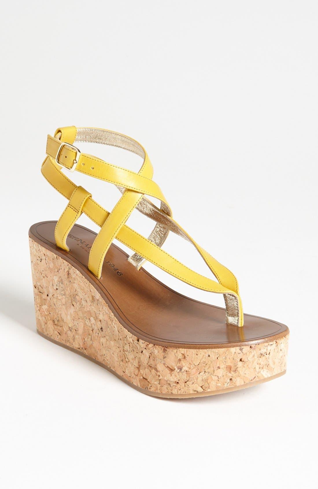 Alternate Image 1 Selected - Bernardo Footwear 1946 Eden Roc Sandal