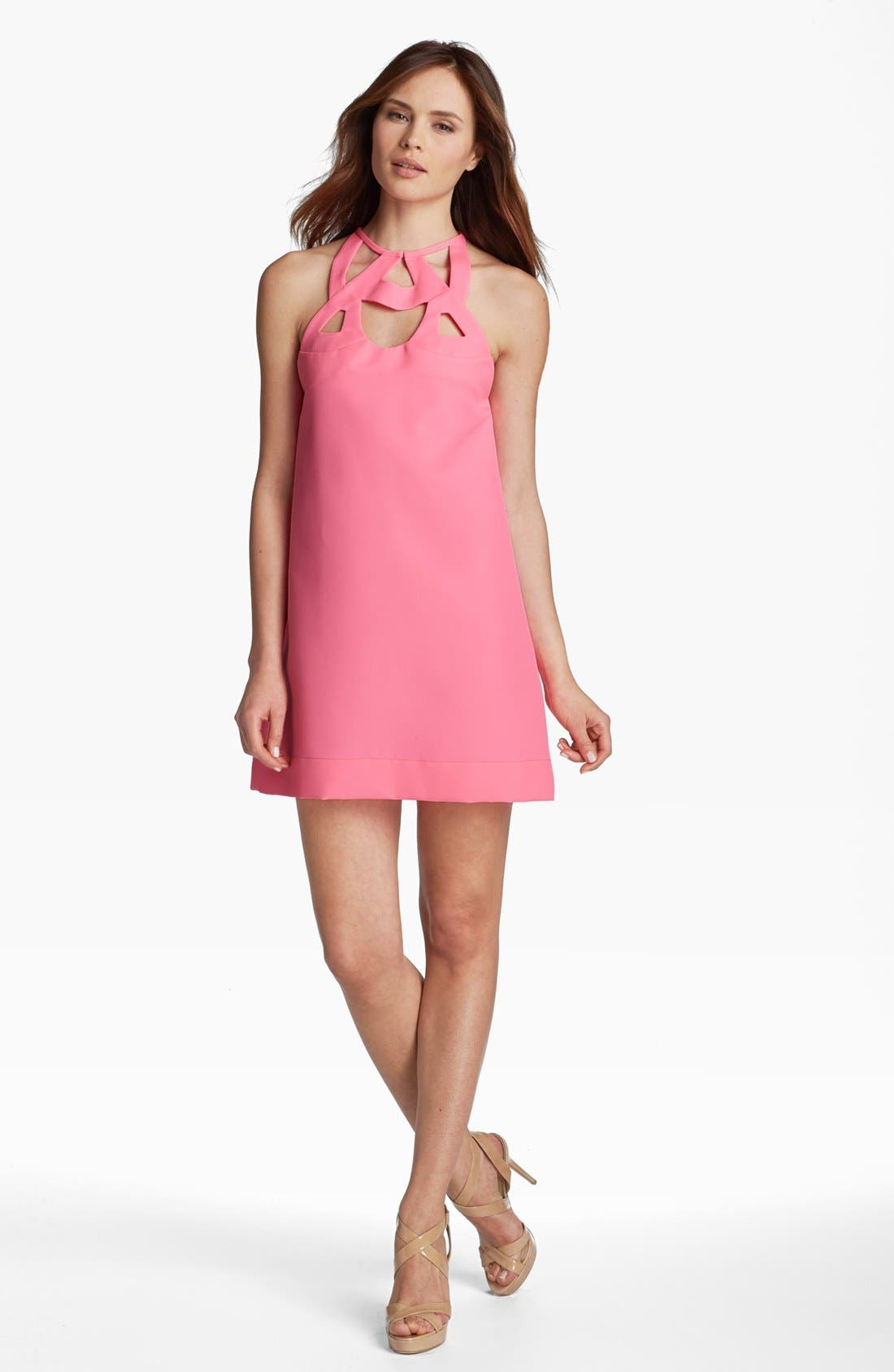 Alternate Image 1 Selected - Diane von Furstenberg 'Machava' Cutout Shift Dress