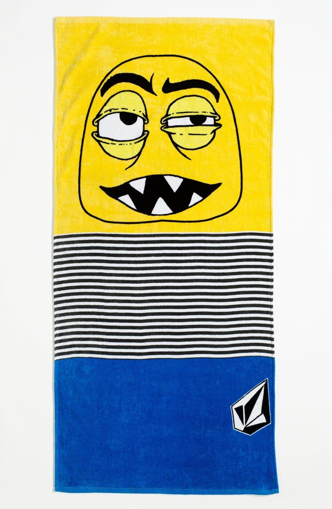 Main Image - Volcom 'Faces' Towel