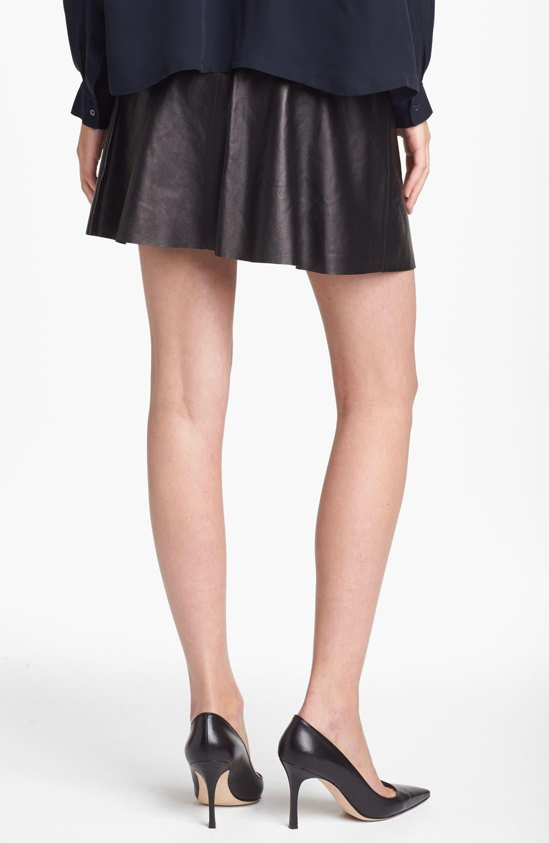 Alternate Image 2  - Vince Leather Skirt