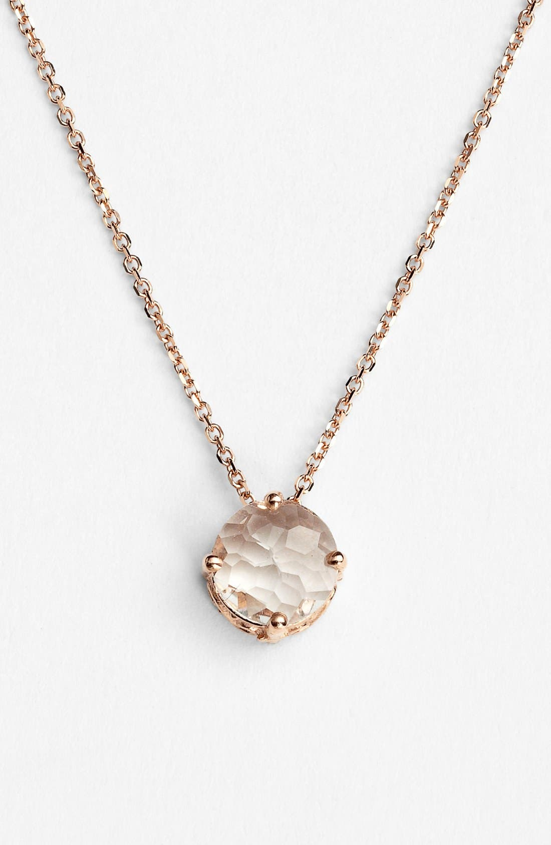 Main Image - KALAN by Suzanne Kalan Round Stone Drop Necklace